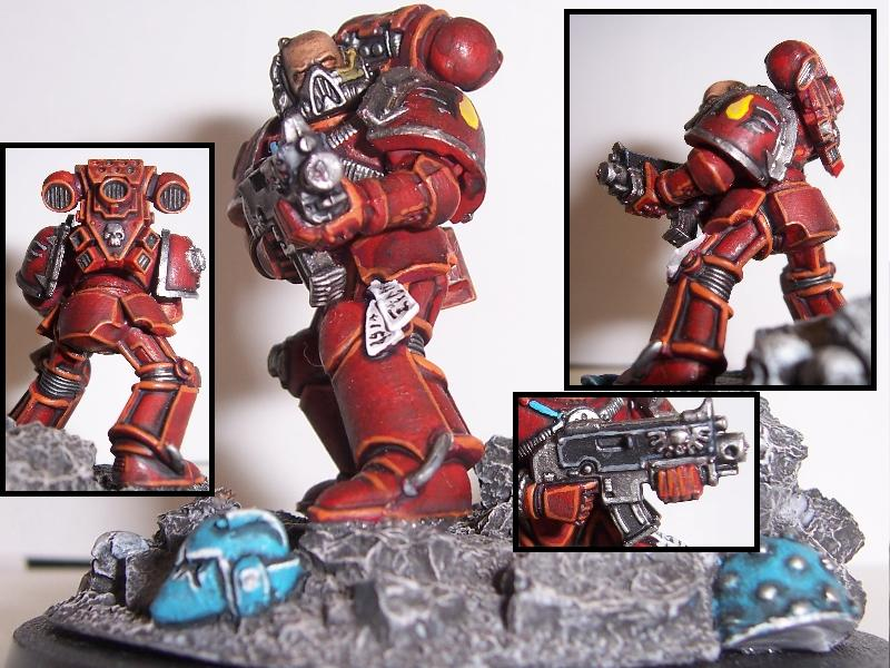 Blood Angels, Space Marines, True Scale