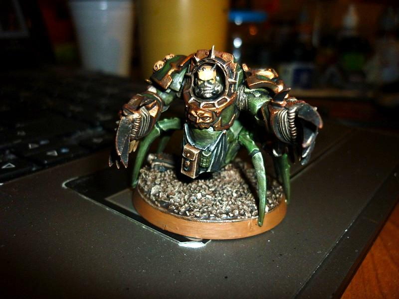 Chaos, Chaos Space Marines, Nurgle, Spider, Terminator Armor
