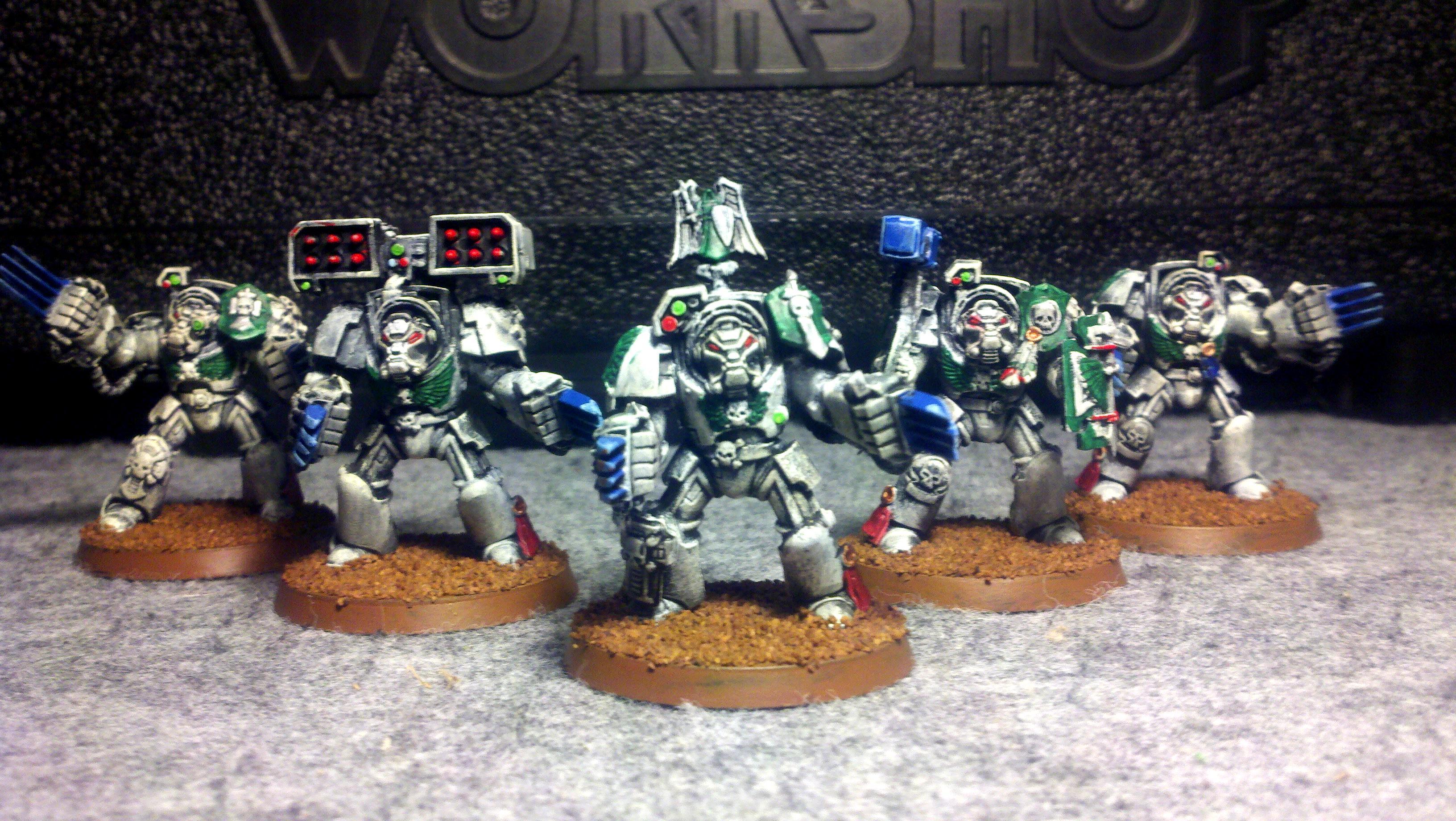 Deathwing, Space Marines, Terminator Armor, Warhammer 40,000