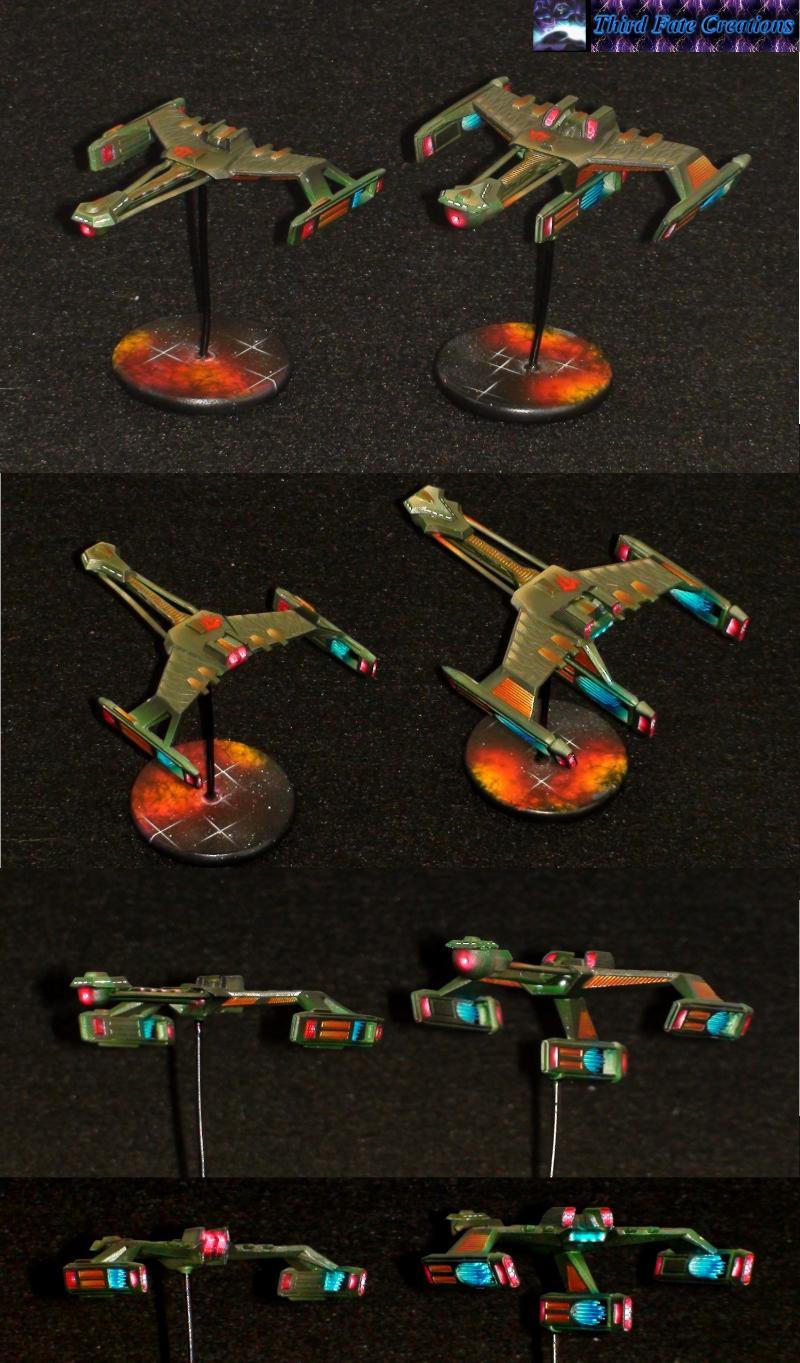 Airbrush, Klingon, Star Trek, Starship
