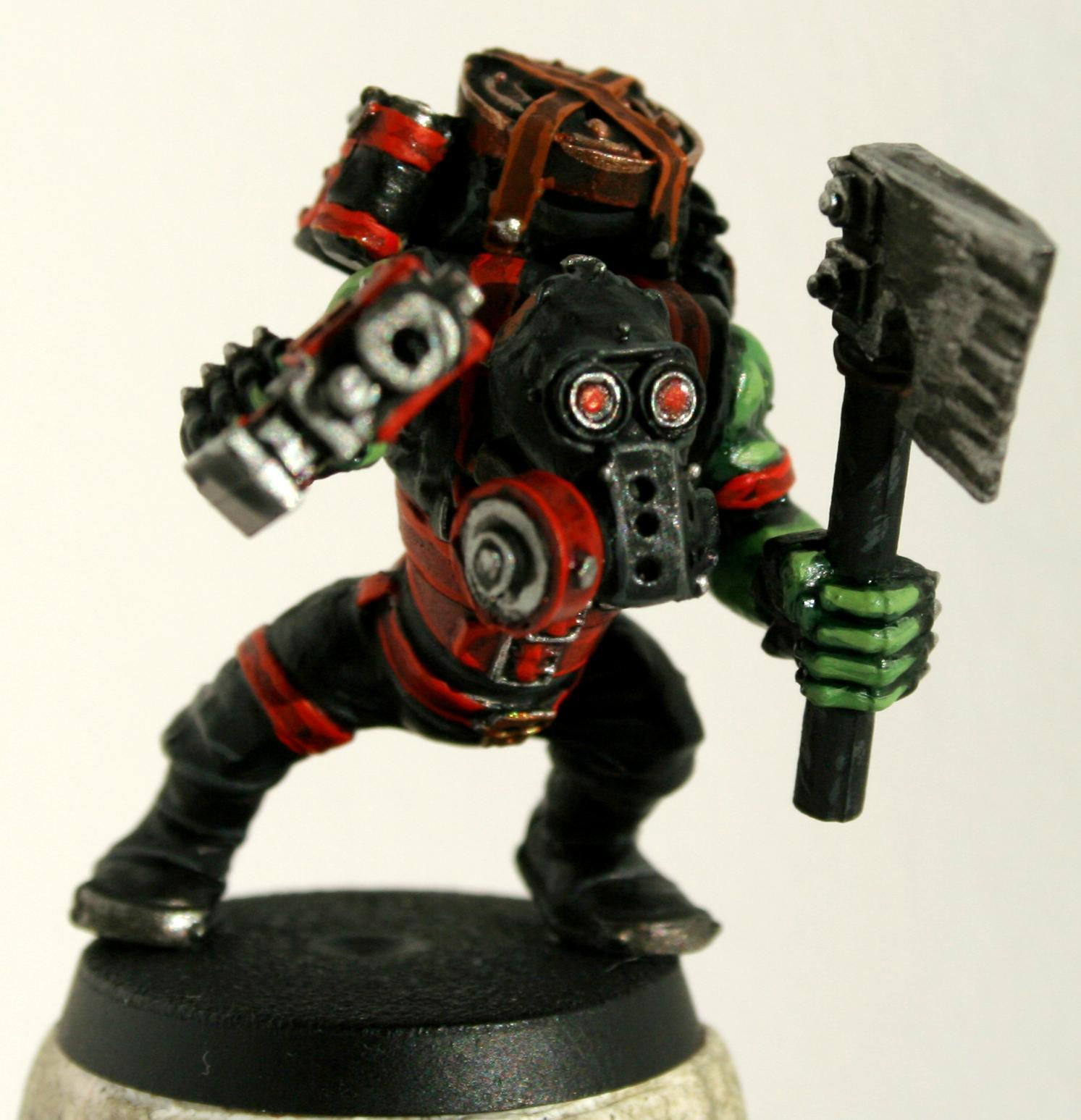 Black, Dynamite, Forge World, Gas Mask, Kommando, Kommandos, Ork Kommando, Orks