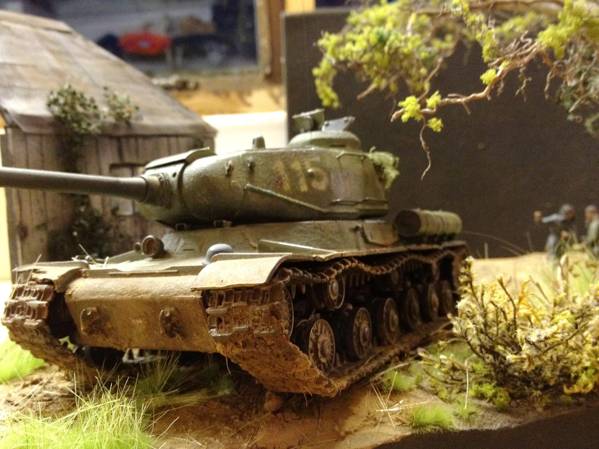 Imperial Guard, Is-2, Russians, Soviet, Tank, World War 2