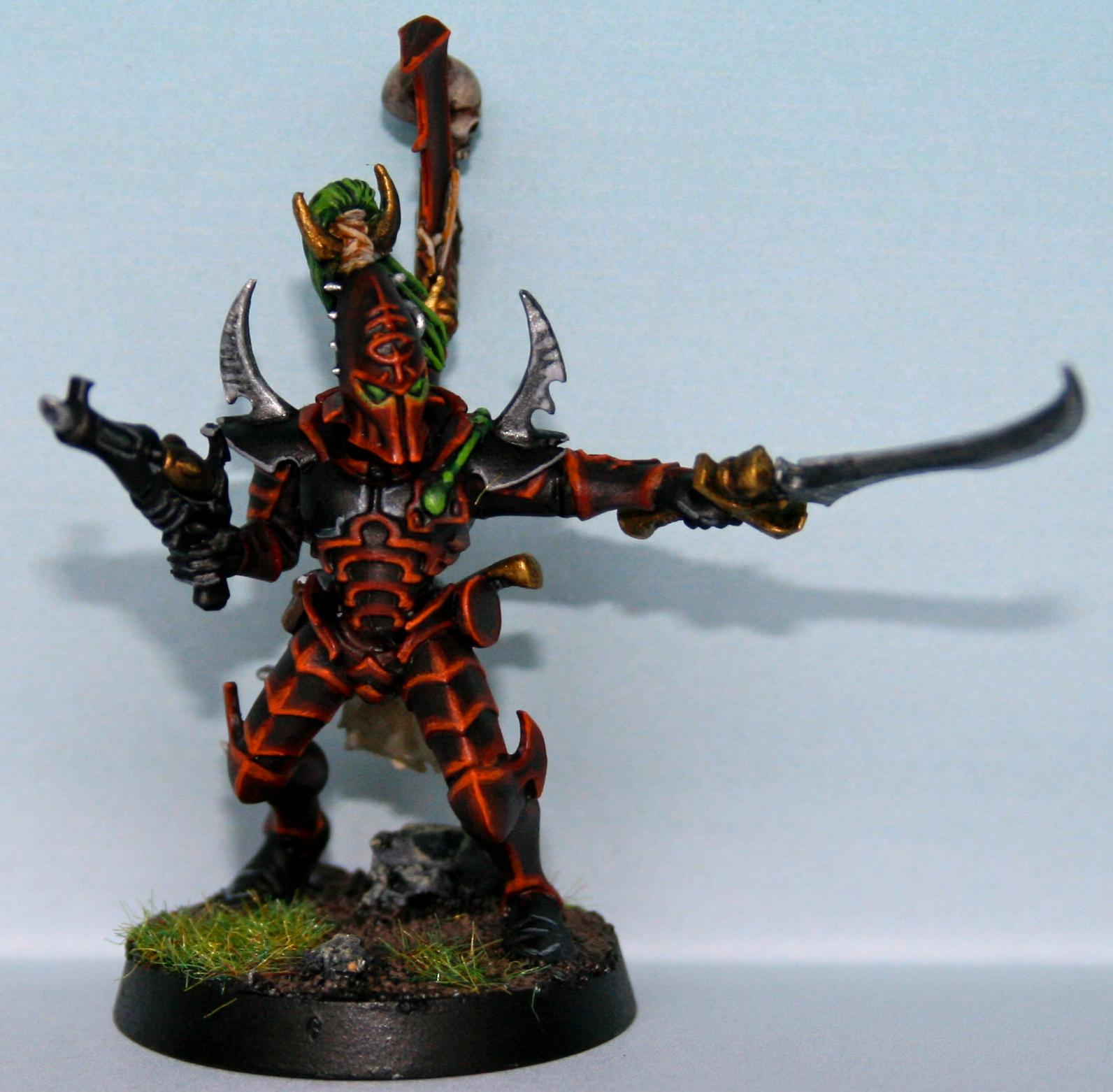 Dark Eldar, Kabalite Warriors, Sybarite, Sybarith