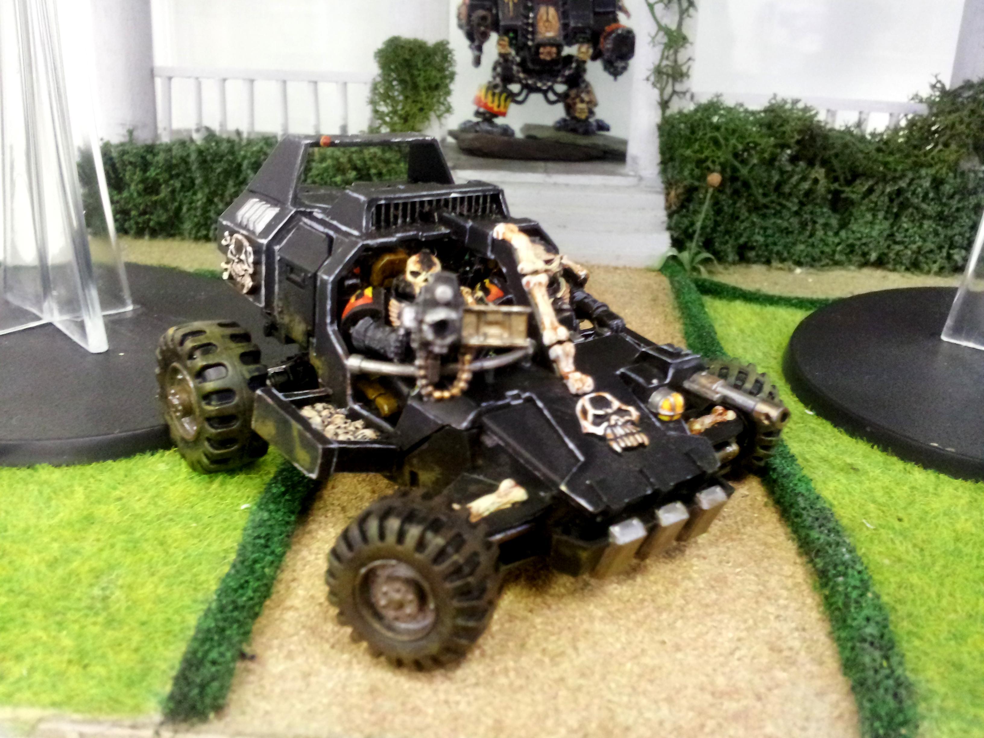 Buggy, Jeep, Land Runner, Land Speeder, Legion Of The Damned