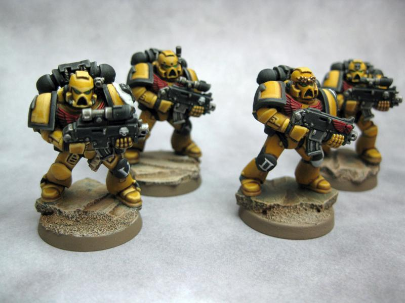 Imperial Fists, Powered Armor