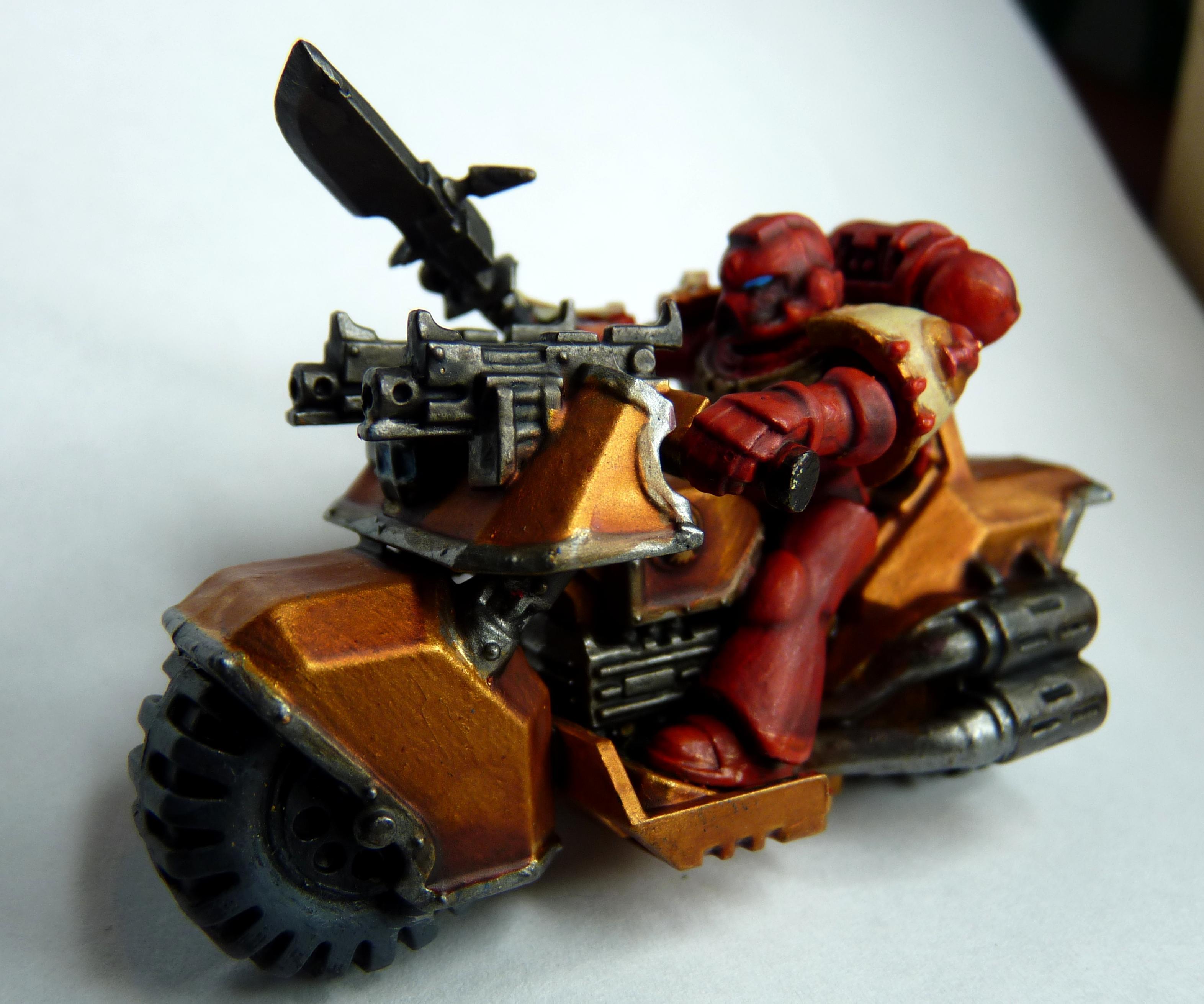 Bike, Blood Angels, Space Marines