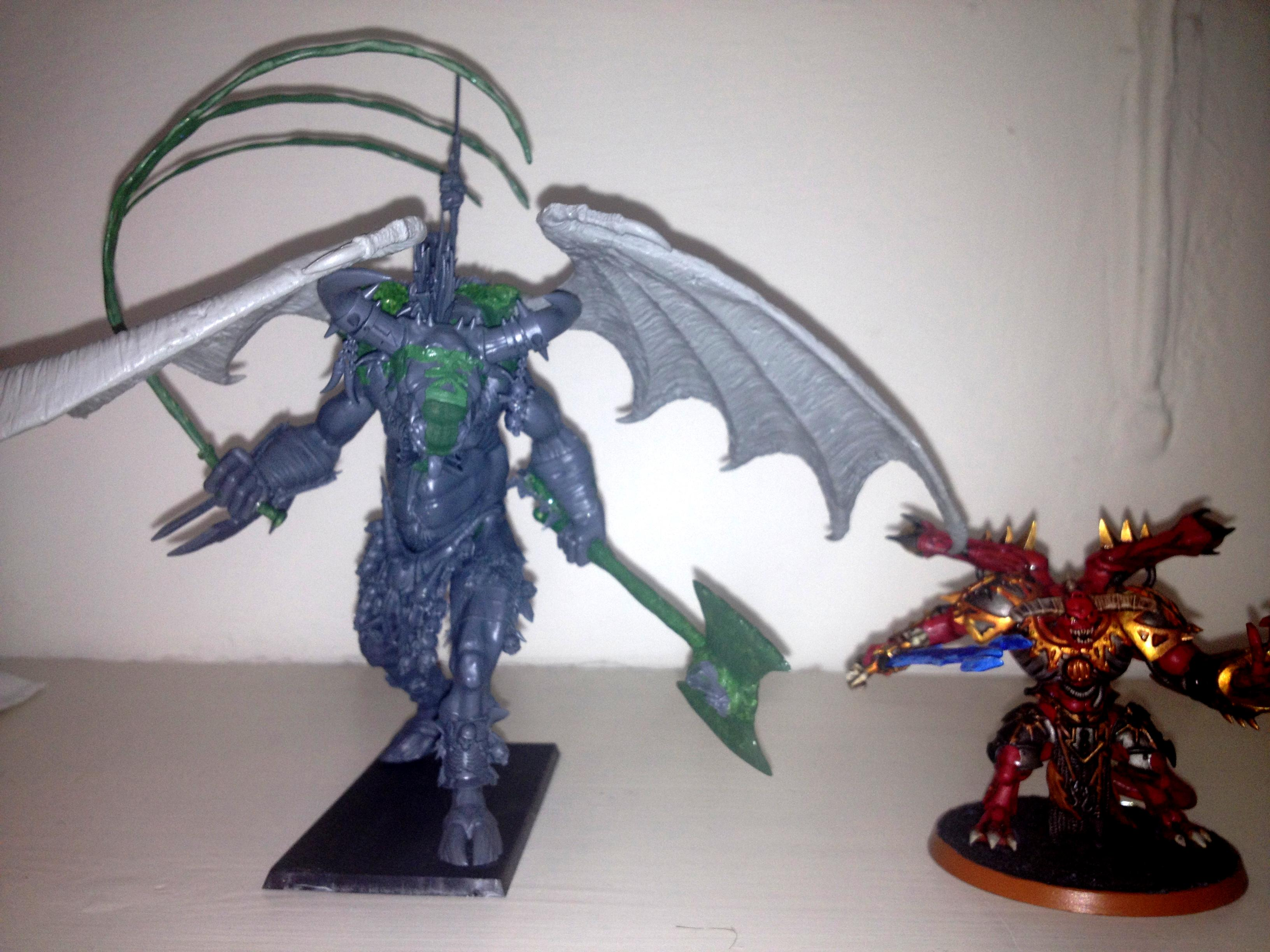 Complete - with Daemon Prince for scale