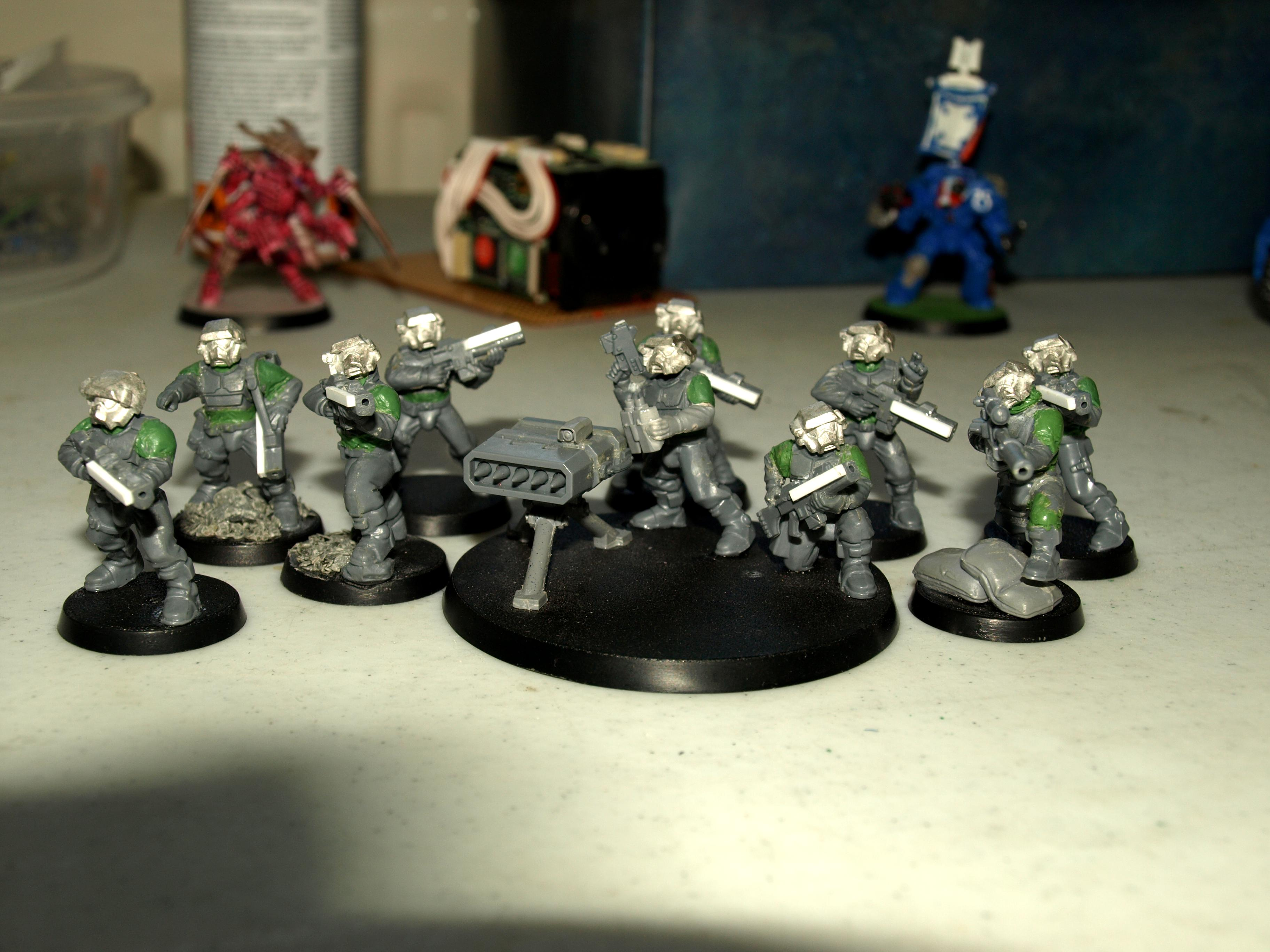Conversion, Imperial Guard Conversions