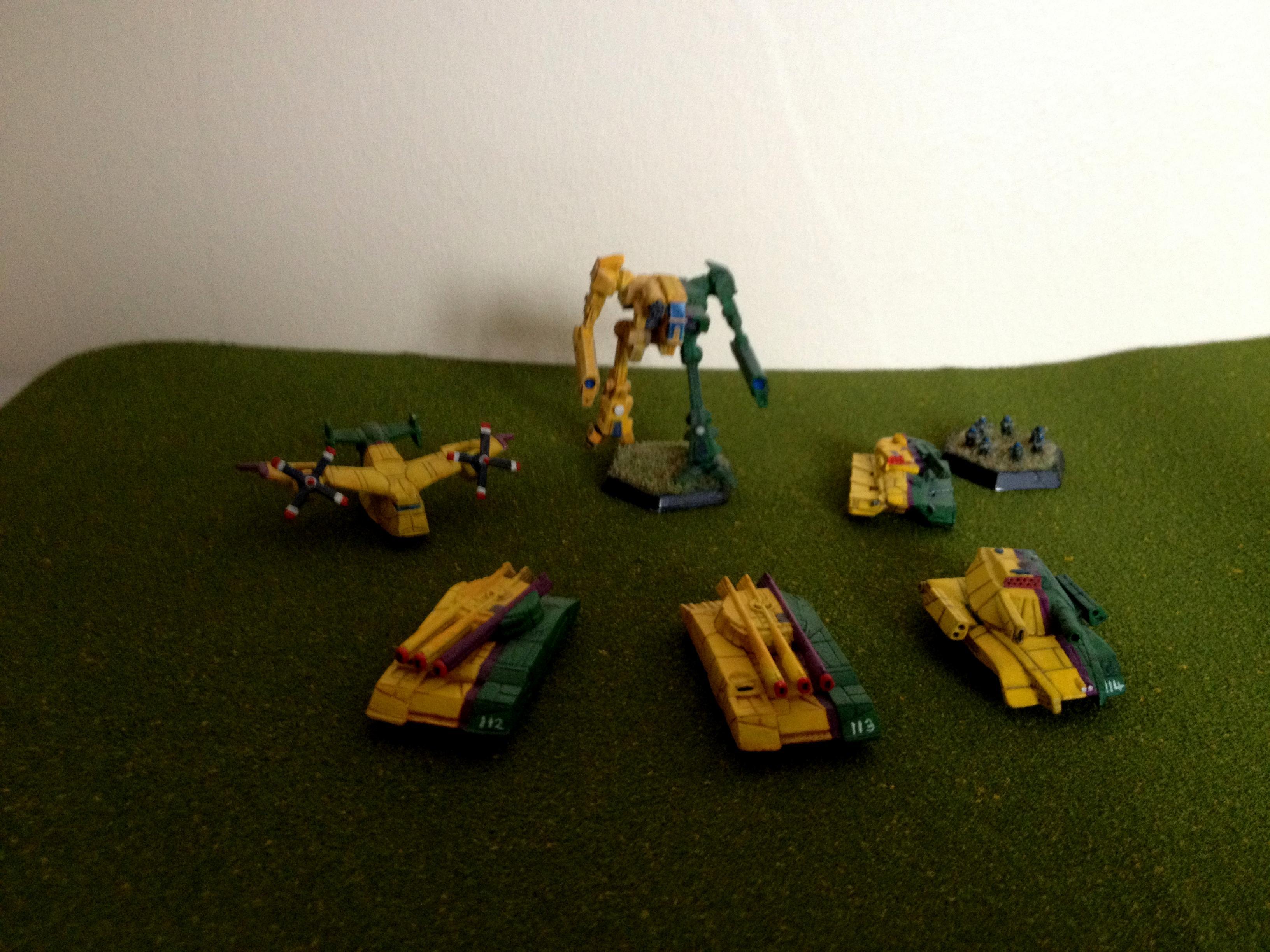 Battlemech, Battletech, Classic Battletech