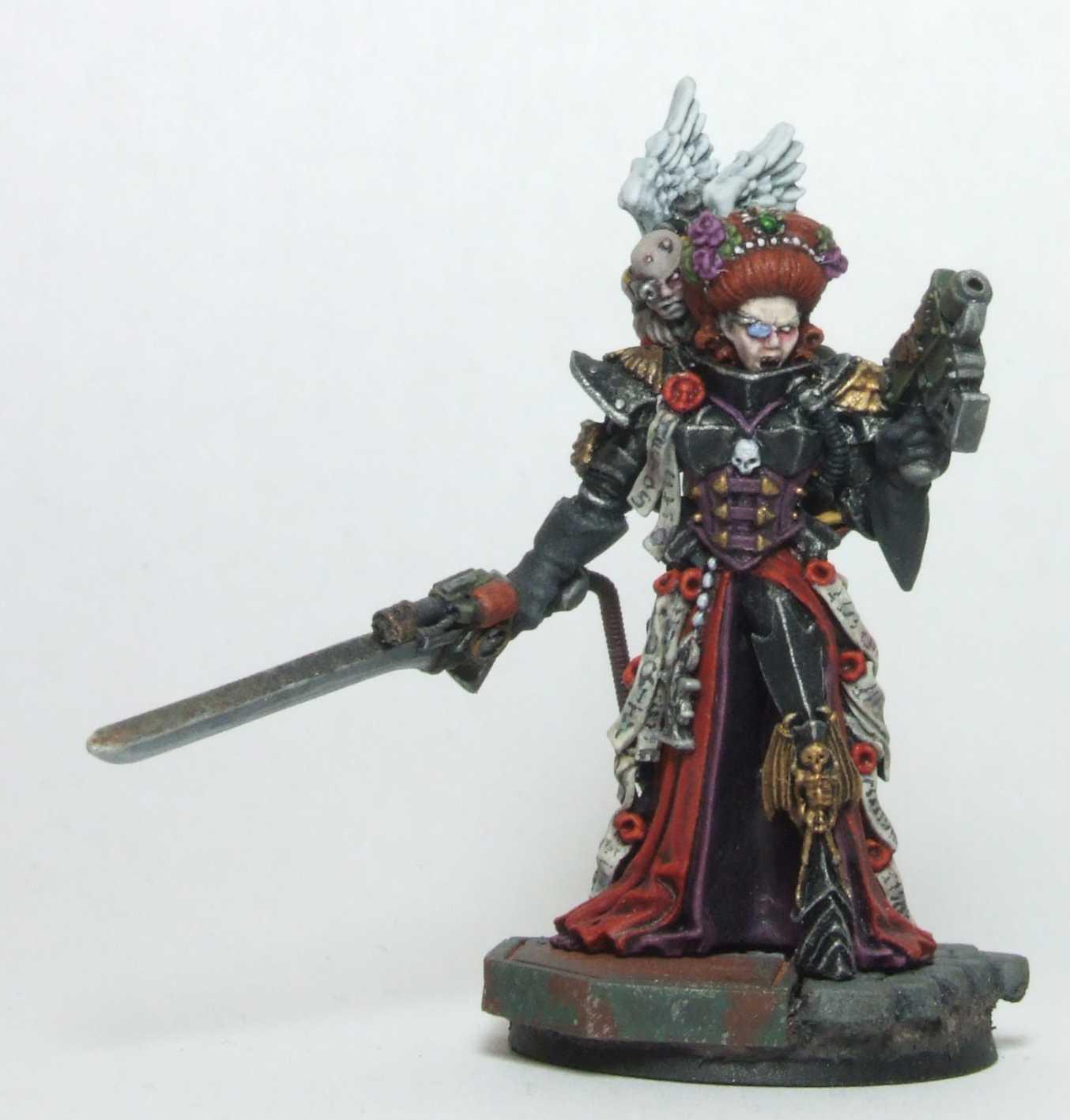 Cherub, Female, Inq28, Inquisitor, Ordo Hereticus, Warhammer 40,000