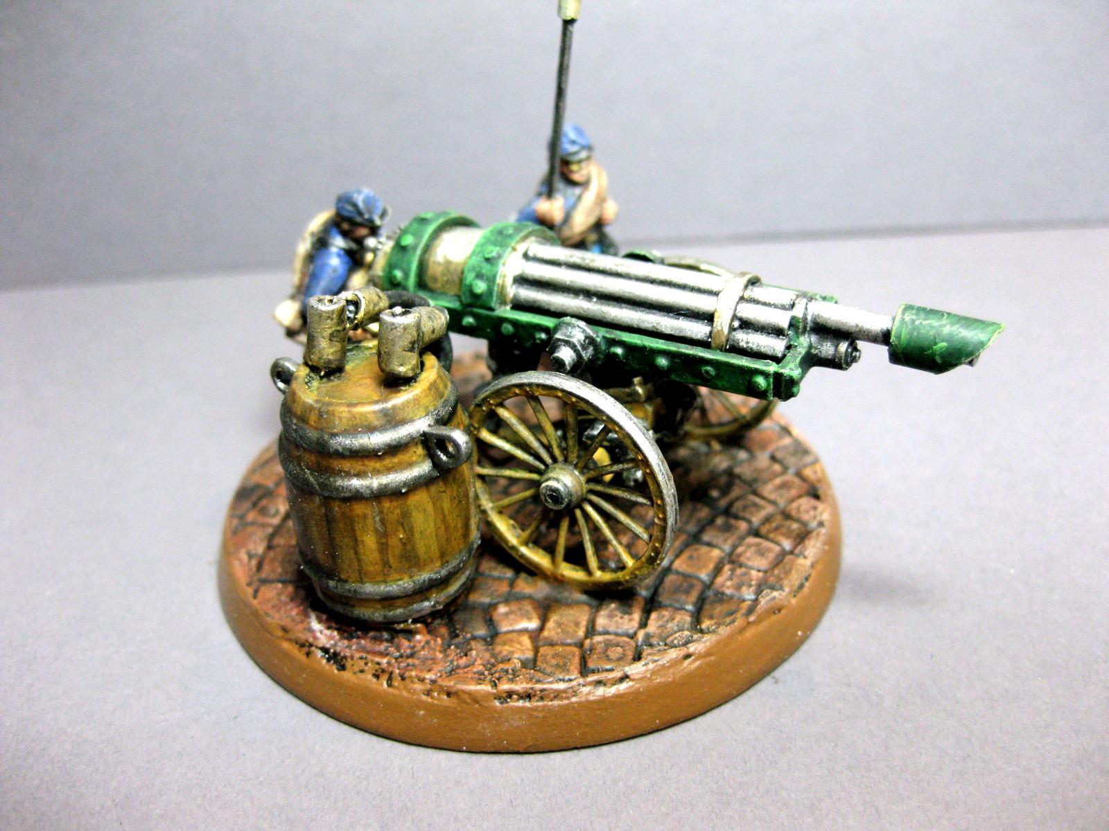 Gatling, Lascannon, Steampunk