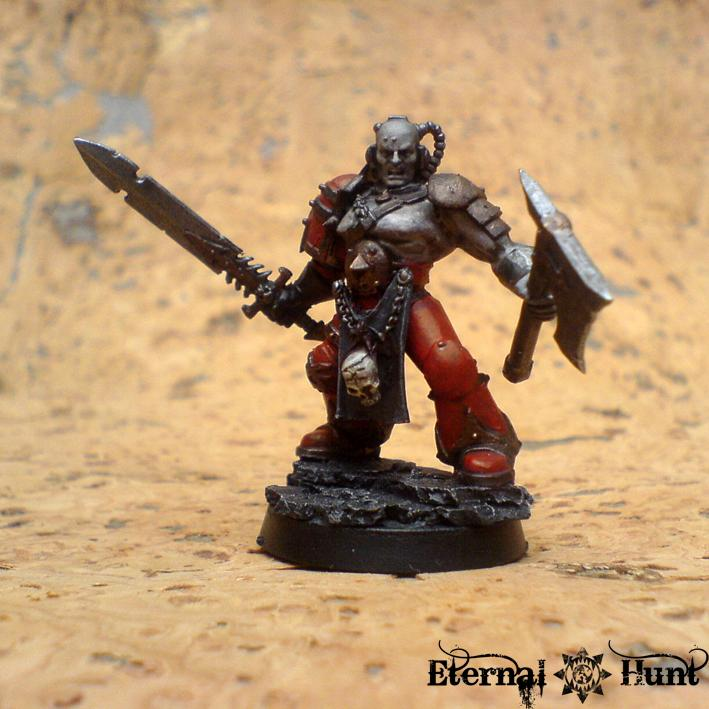 Chaos, Chaos Space Marines, Conversion, Gladiator, Khorne, Warhammer 40,000, World Eaters