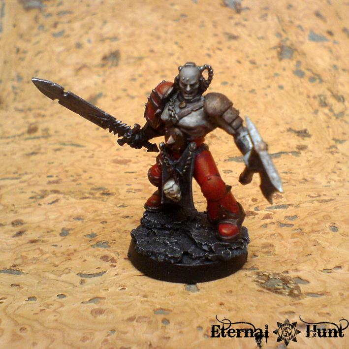 Chaos  Chaos Space Marines  Conversion  Gladiator  Khorne