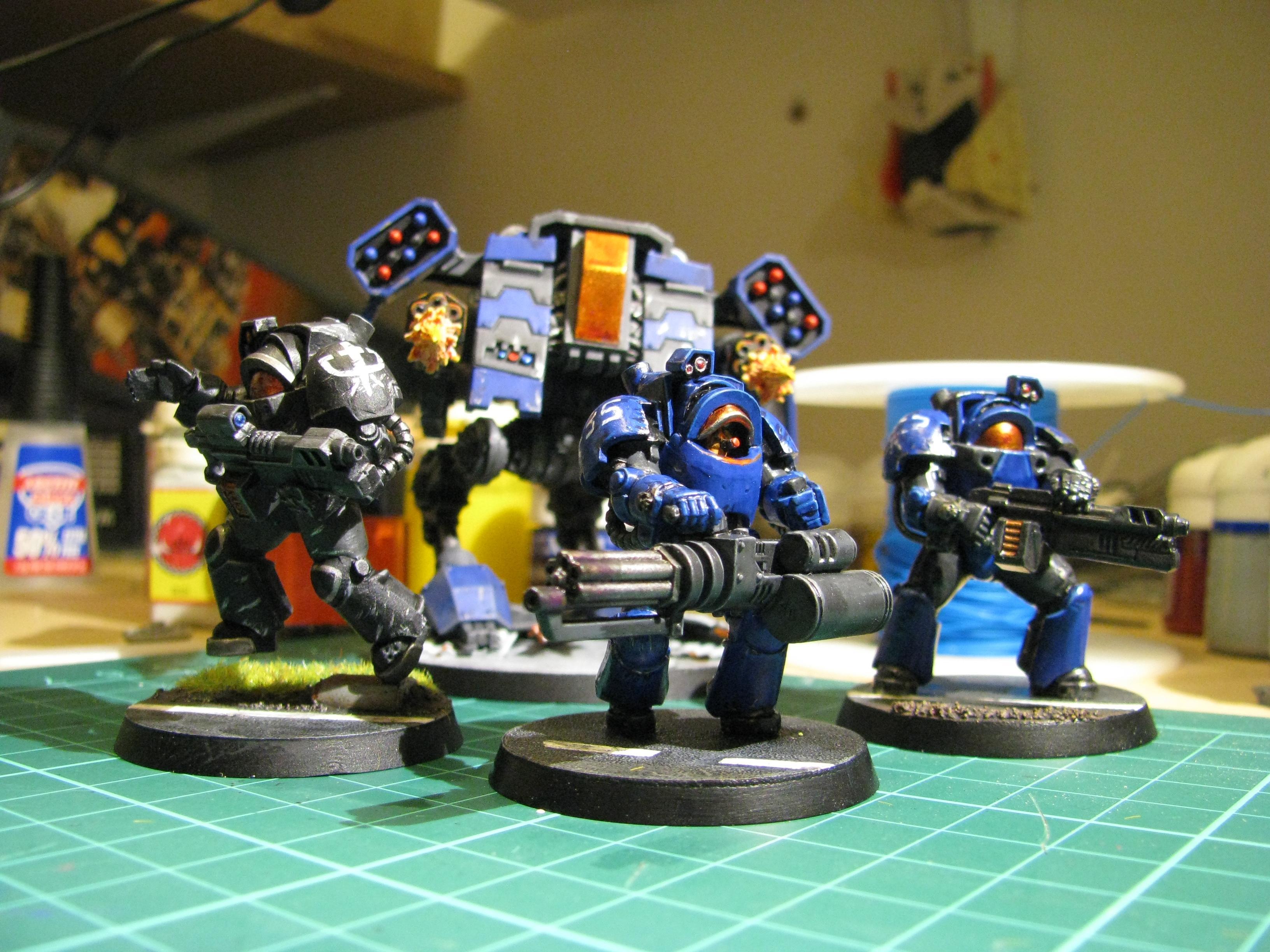 Belial, Deathwing, Jim Raynor, Sc2, Space Marines, Terran, Viking