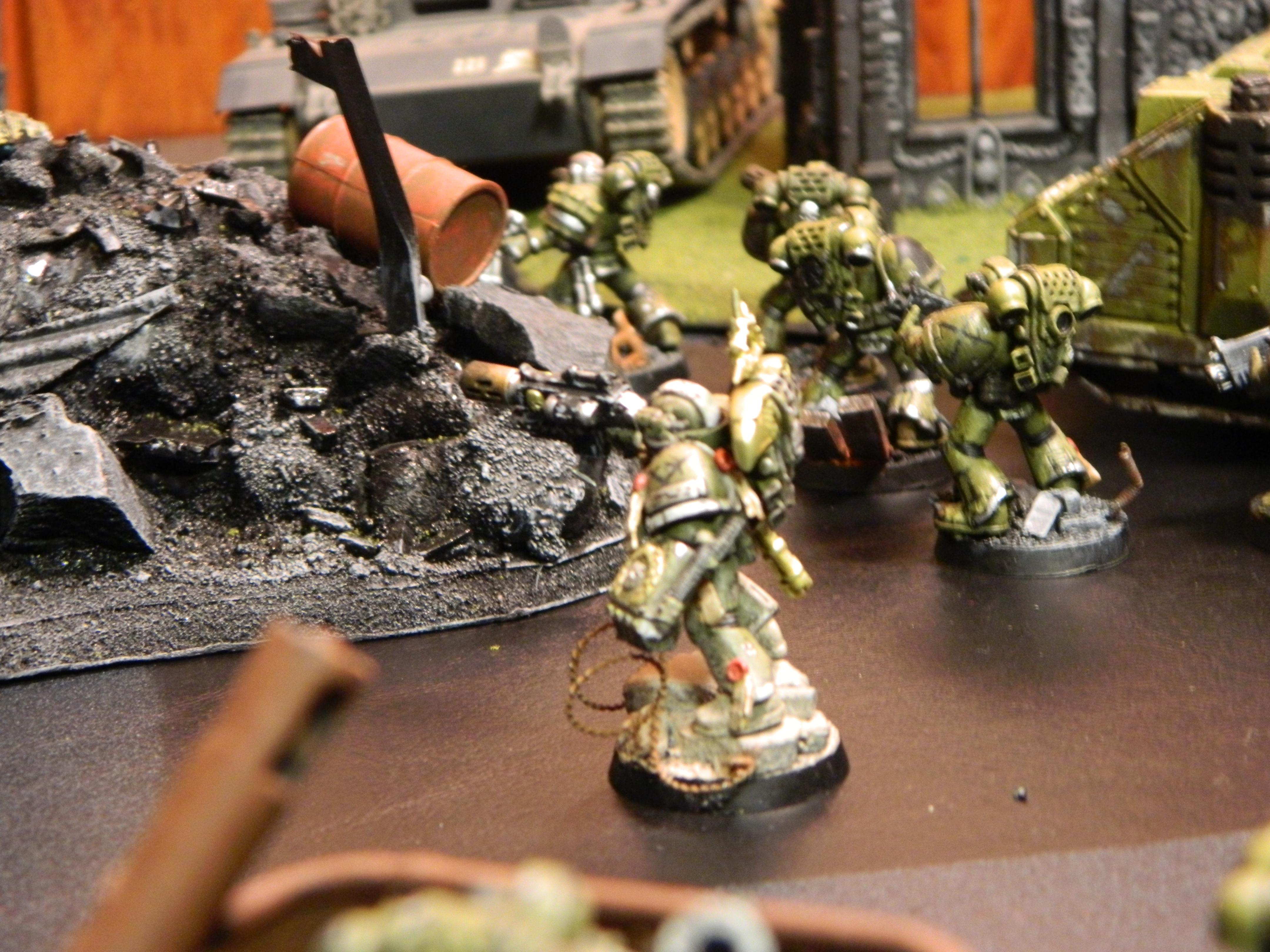 Action Shots, Dreadnought, Epic, Photoshoot, Space Marines