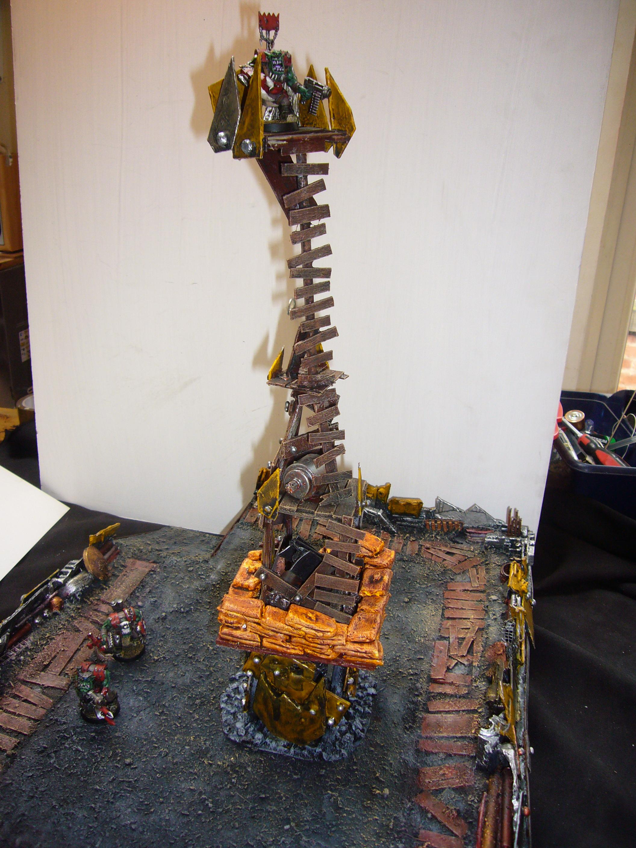 Orks, Tower, stacked towers