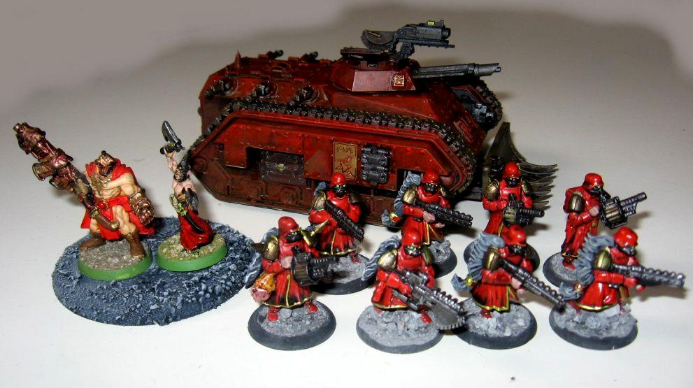Blood Pact, Imperial Guard, Lost And The Damned, Traitor, Wargames Factory