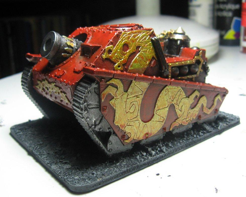 Artillery, Blood Pact, Griffon, Warhammer 40,000