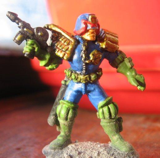 2000ad, Dredd, Judge, Mini, Skirmish