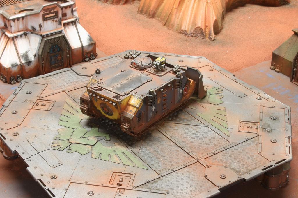 Citadel, Desert, Drybrush, Game Table, Space Marines, Terrain