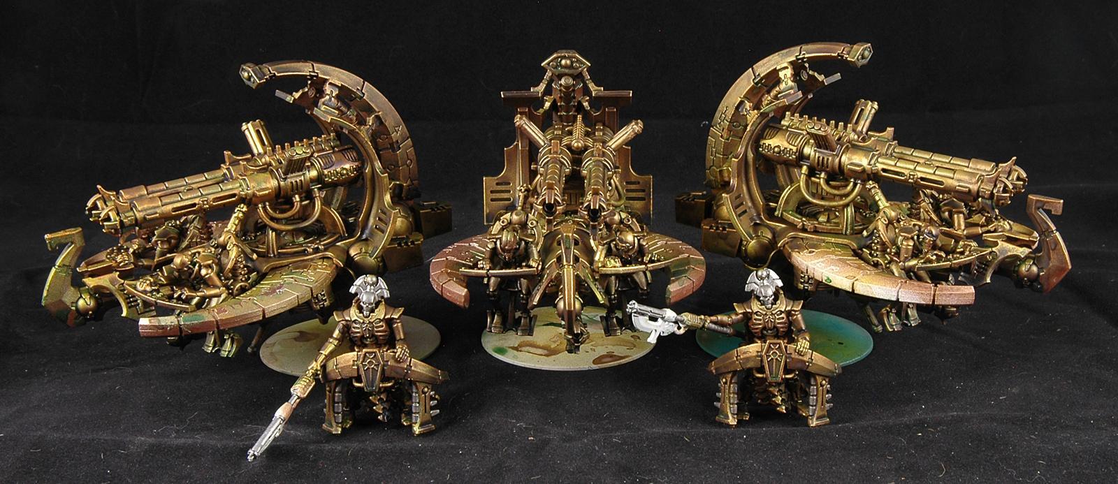 Barge, Necrons, Warhammer 40,000, Work In Progress