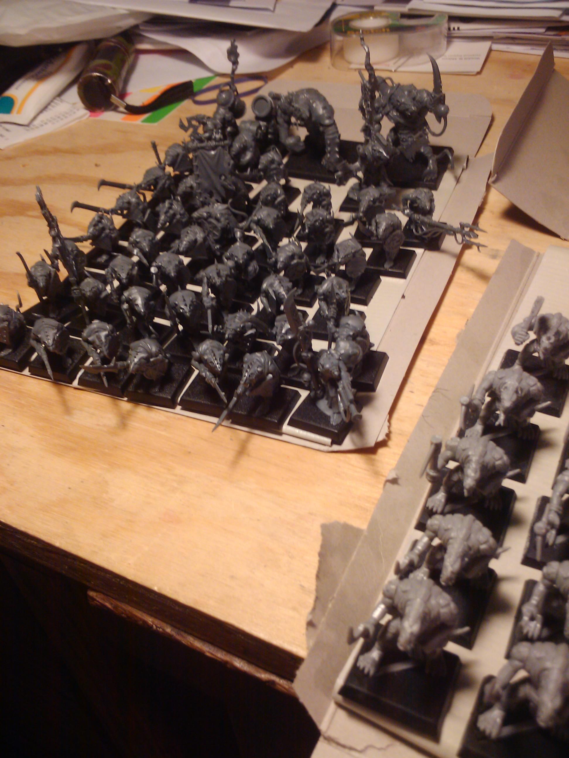 Build, Conversion, Games Workshop, Painting, Rat, Skaven, Warhammer Fantasy