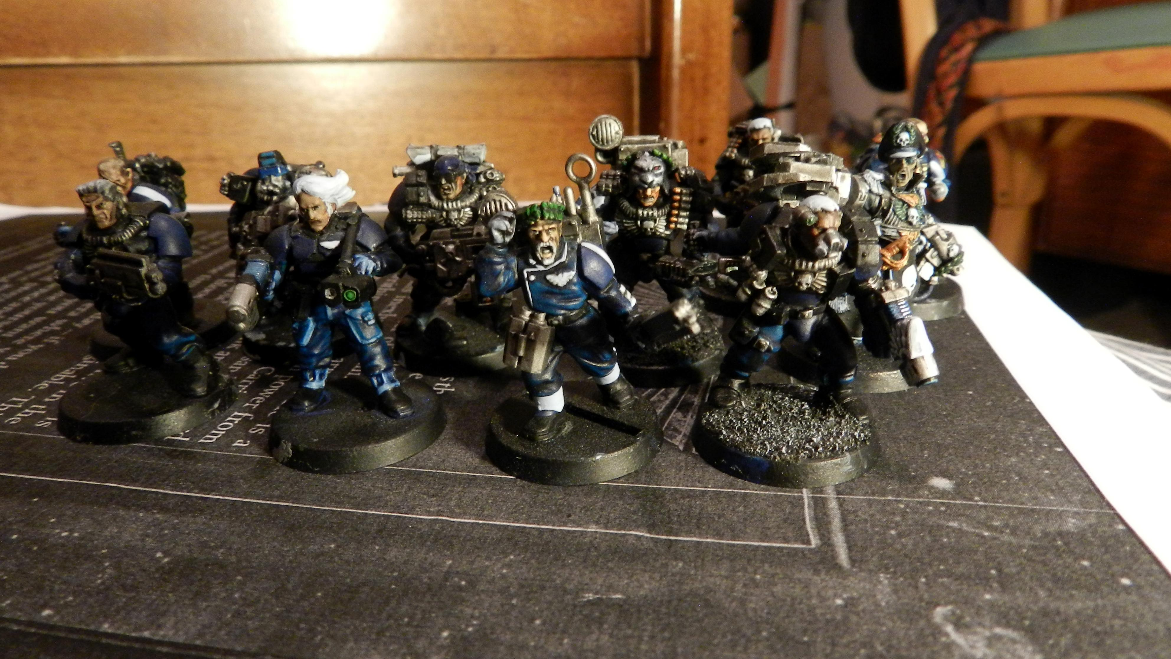 Adeptus Arbites, Advisor, Cadians, Captain, Carapace, Ccs, Command Squad, Commander, Commissar, Commissar Yarrick, Company Command Squad, Conversion, Count As, Gears Of War, Grenadier, Grenadiers, Guardsmen, Harker, Imperial Guard, Junior Officer, Lord Commissar, Medic, Officer, Plasma Gun, Power Fist, Scouts, Veteran, Warhammer 40,000, Work In Progress, Yarrick