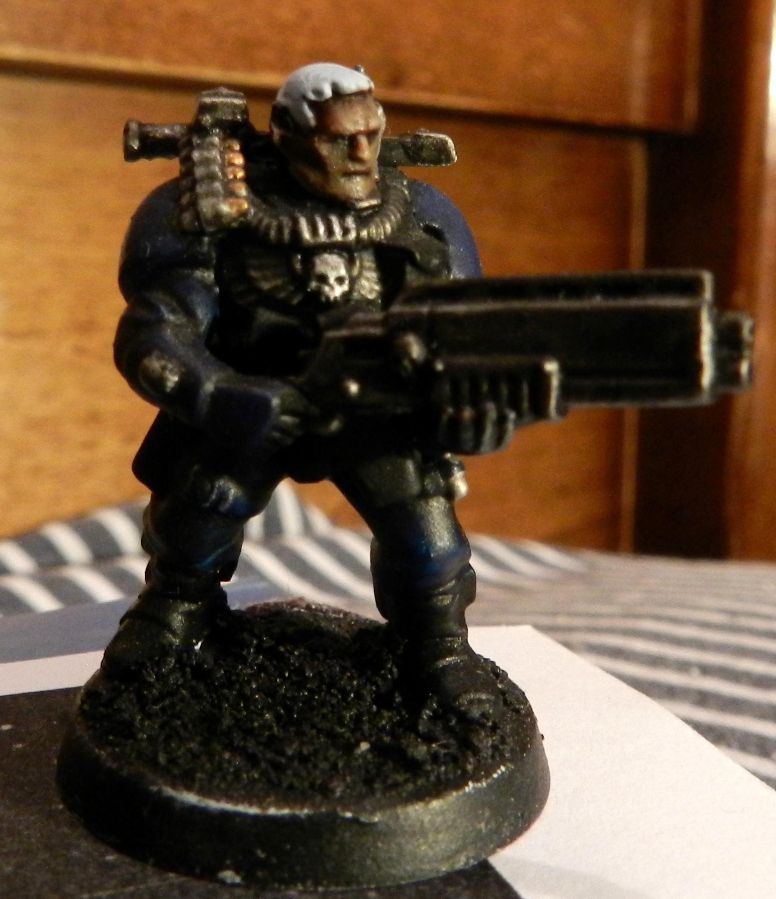 Adeptus Arbites, Cadians, Conversion, Count As, Gears Of War, Grenadier, Grenadiers, Guardsmen, Imperial Guard, Scouts, Shotgun, Veteran, Warhammer 40,000, Work In Progress