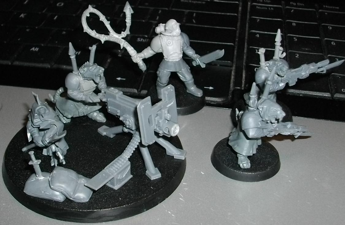 Chaos, Cultists, Iron Warriors, Mutant, Skaven, Traitor Guard