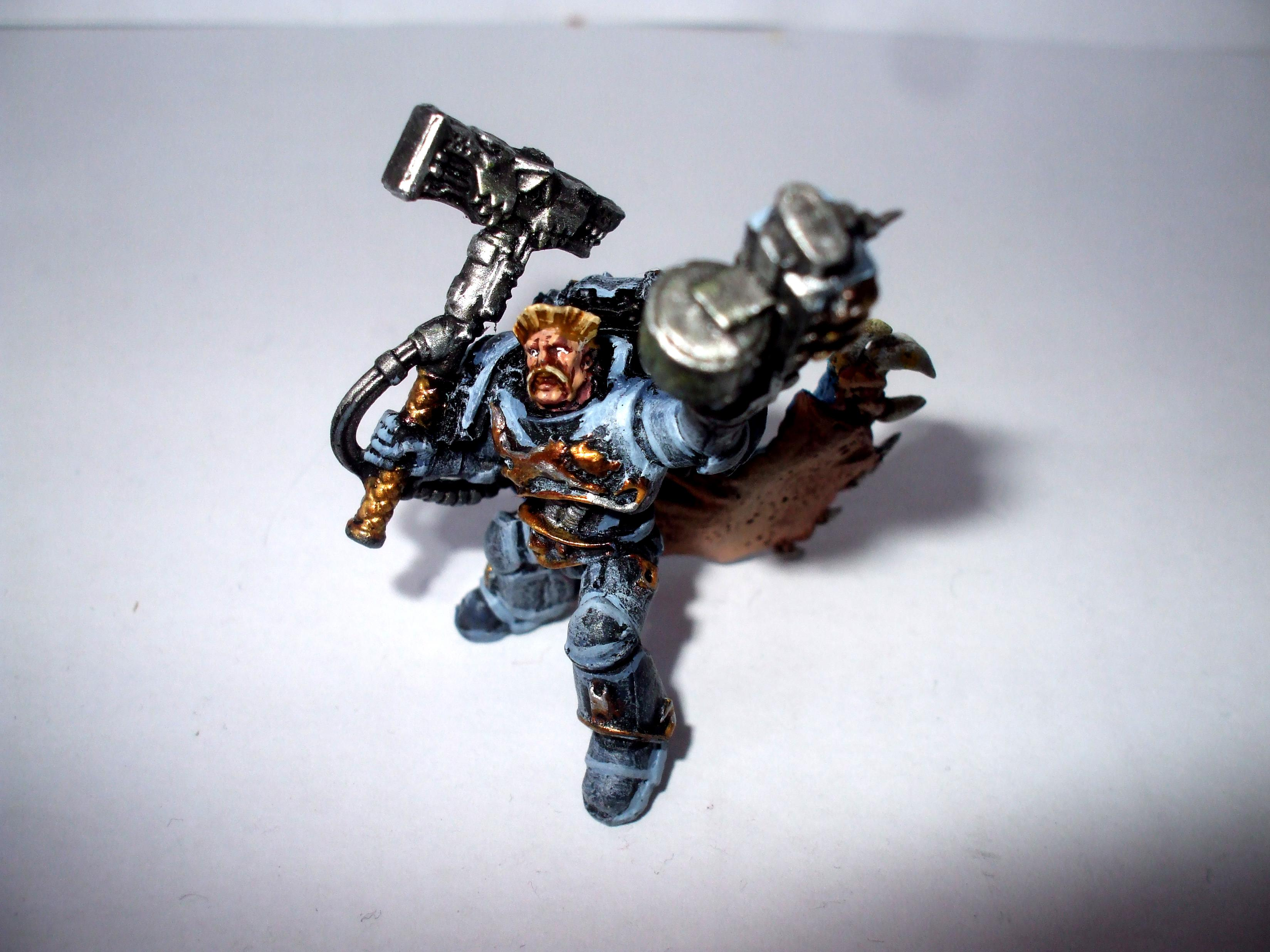 Spacewolf, Wolflord, space wolf wolflord fnished