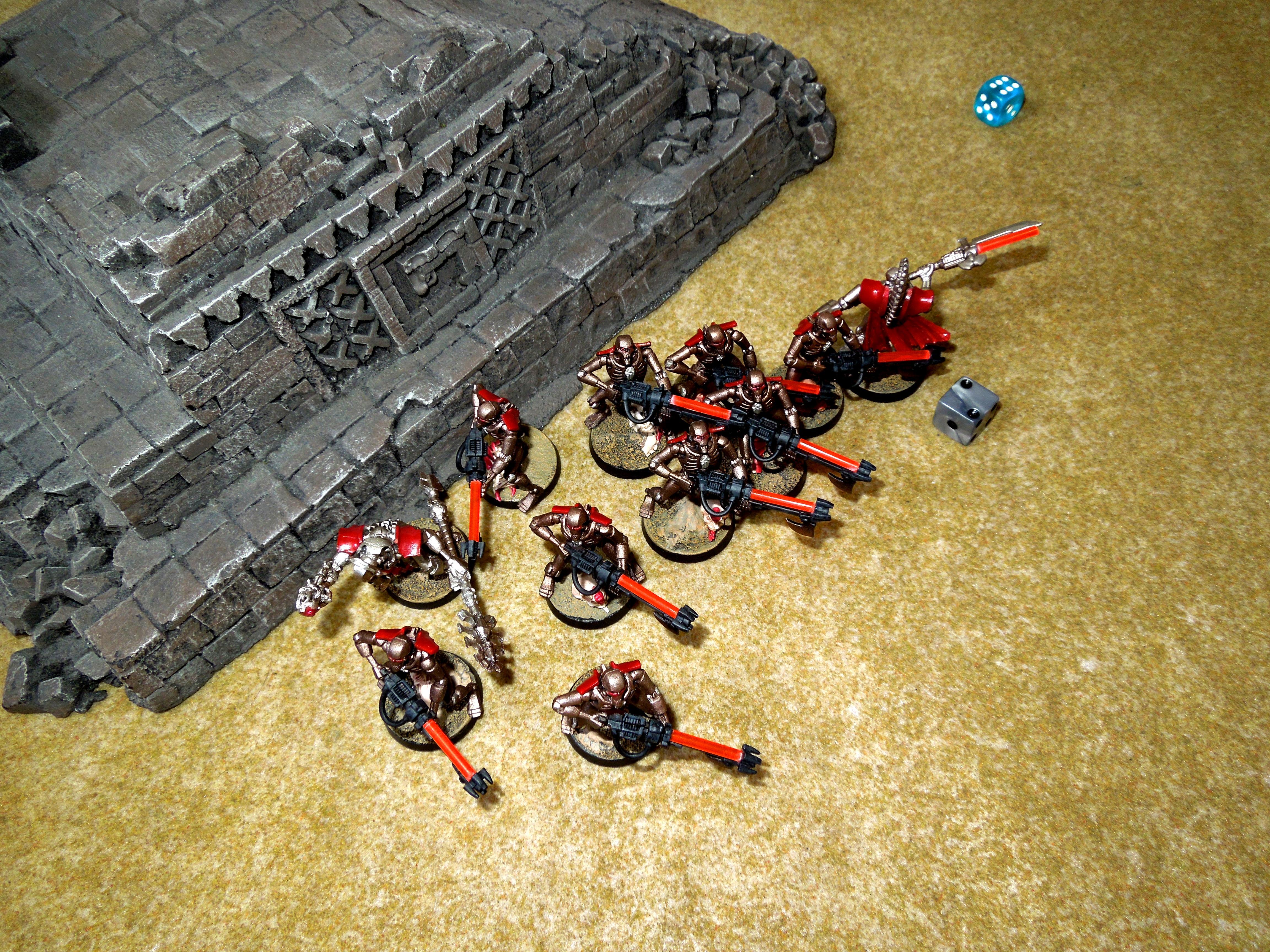Battle Report, Necrons, Sisters Of Battle