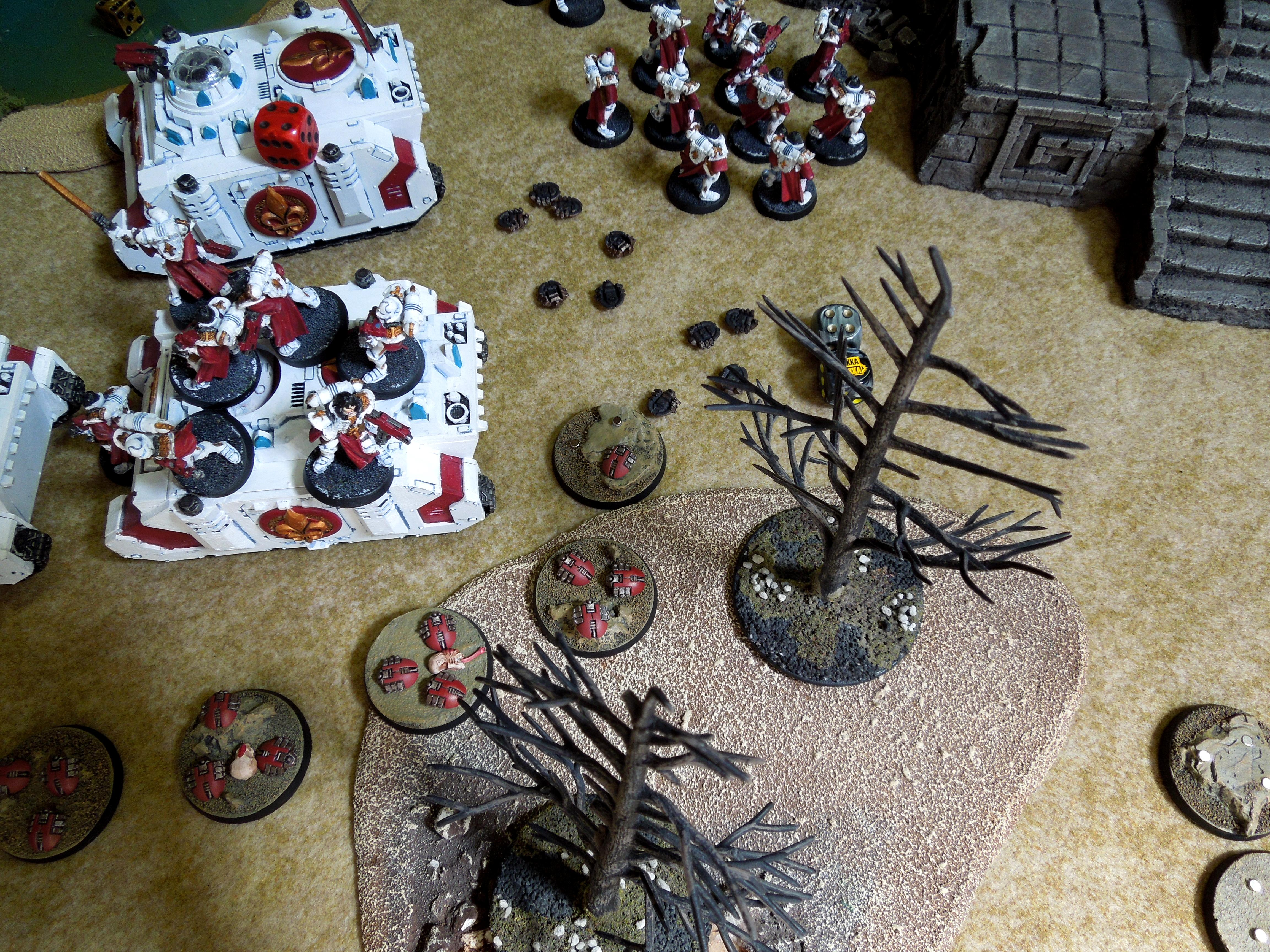 Battle, Necrons, Sisters Of Battle, Tabletop