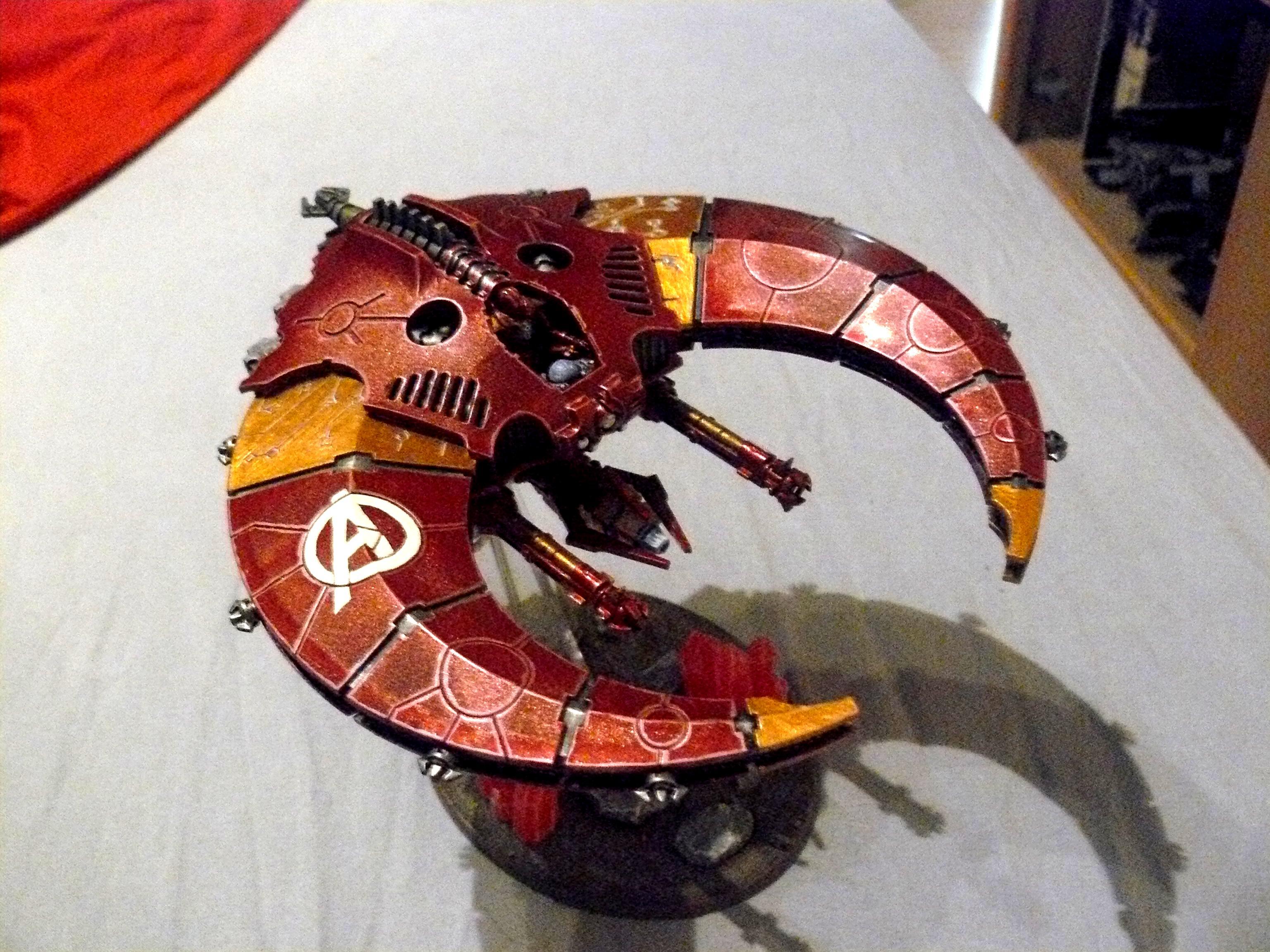 Avengers, Doom Scythe, Flyer, Iron Crons, Necrons