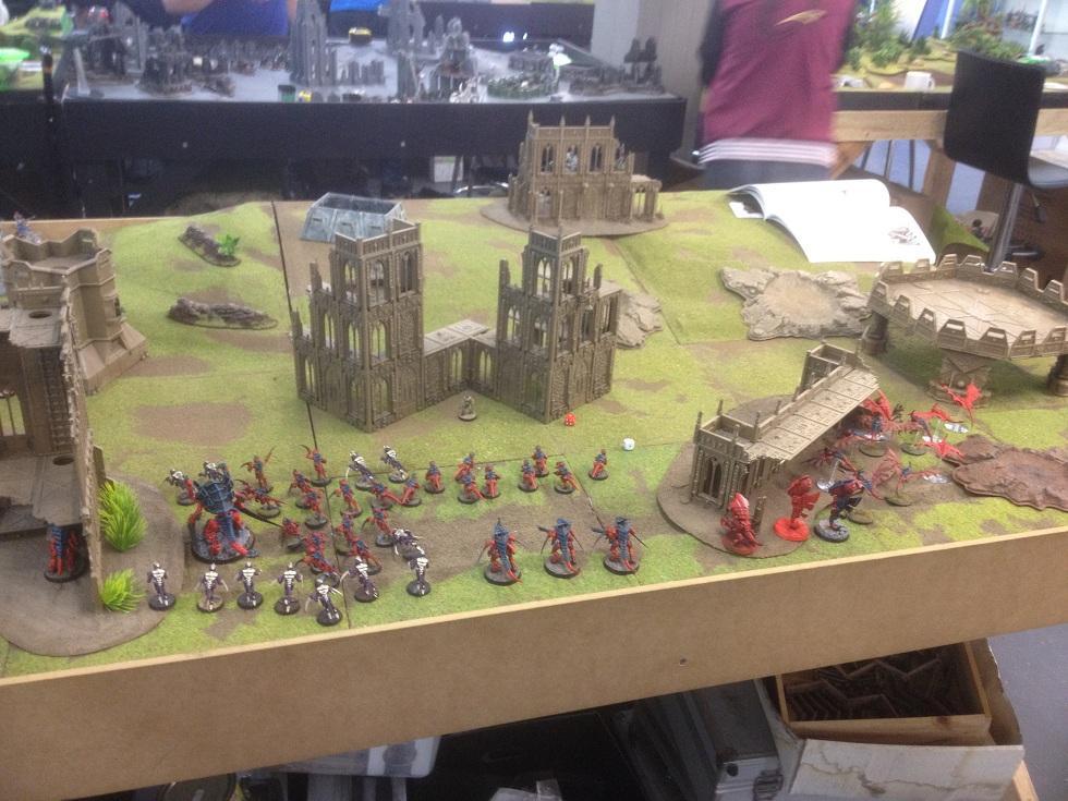 Buildings, Game Table, Imperial, Ruins, Terrain, Tyranids, Warhammer 40,000
