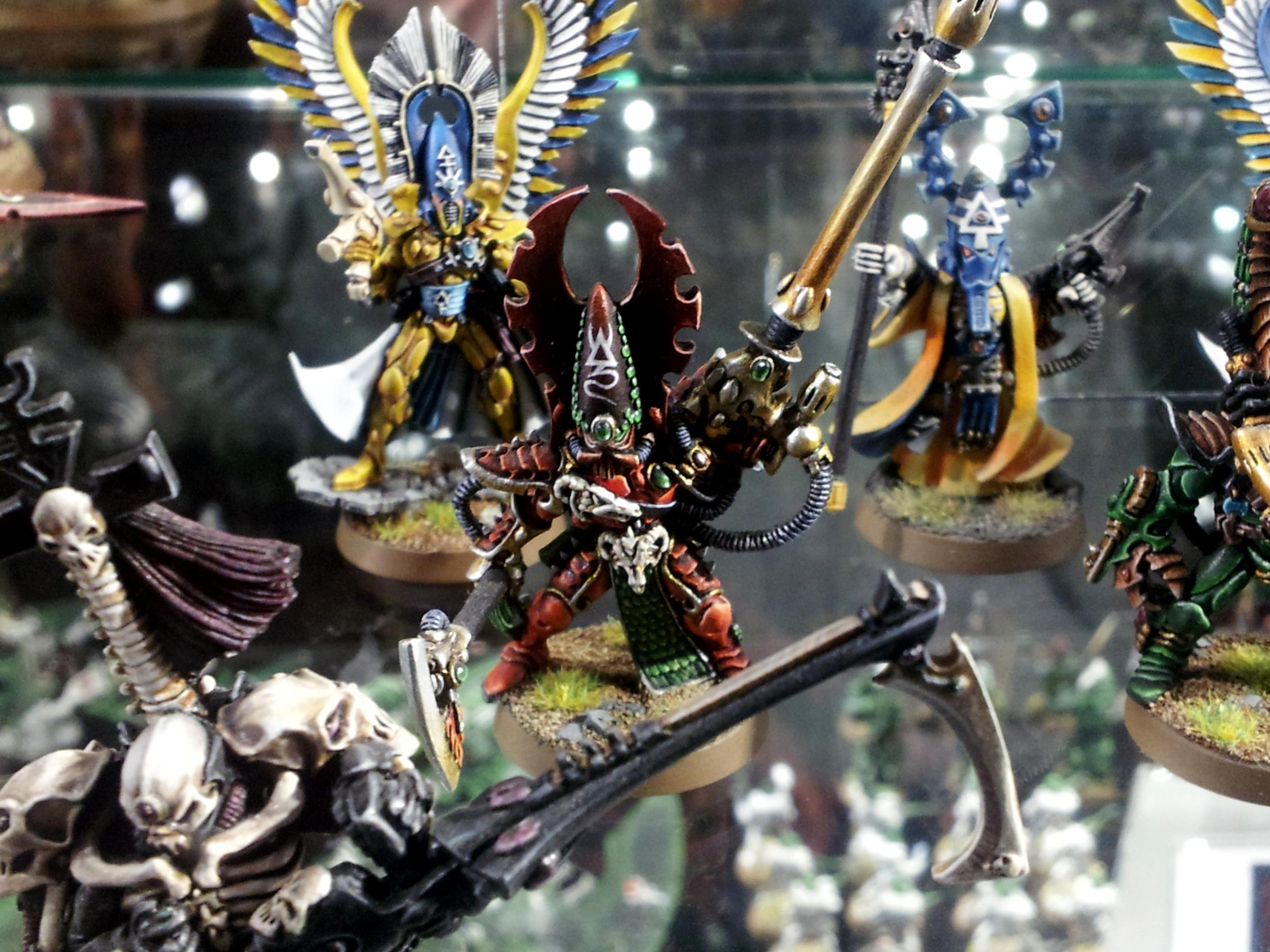 Deadshot, Eldar, Exarch, Fire Dragon, Fuegan, Hall Of Miniatures, Pheonix Lord, Warhammer World