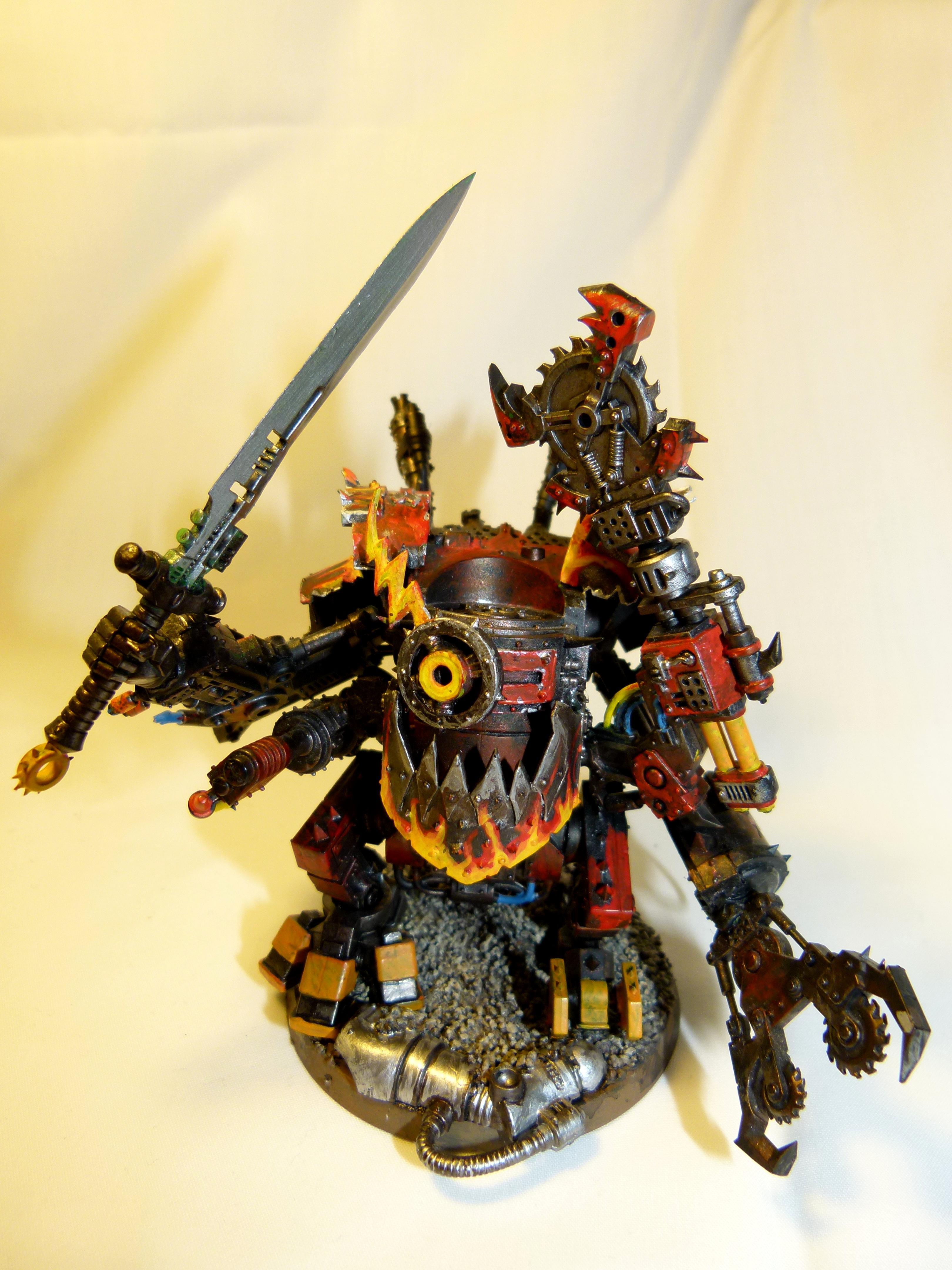 Deff Dreads, Grey Knights, Heavy, Orks, Walkers, Warhammer 40,000