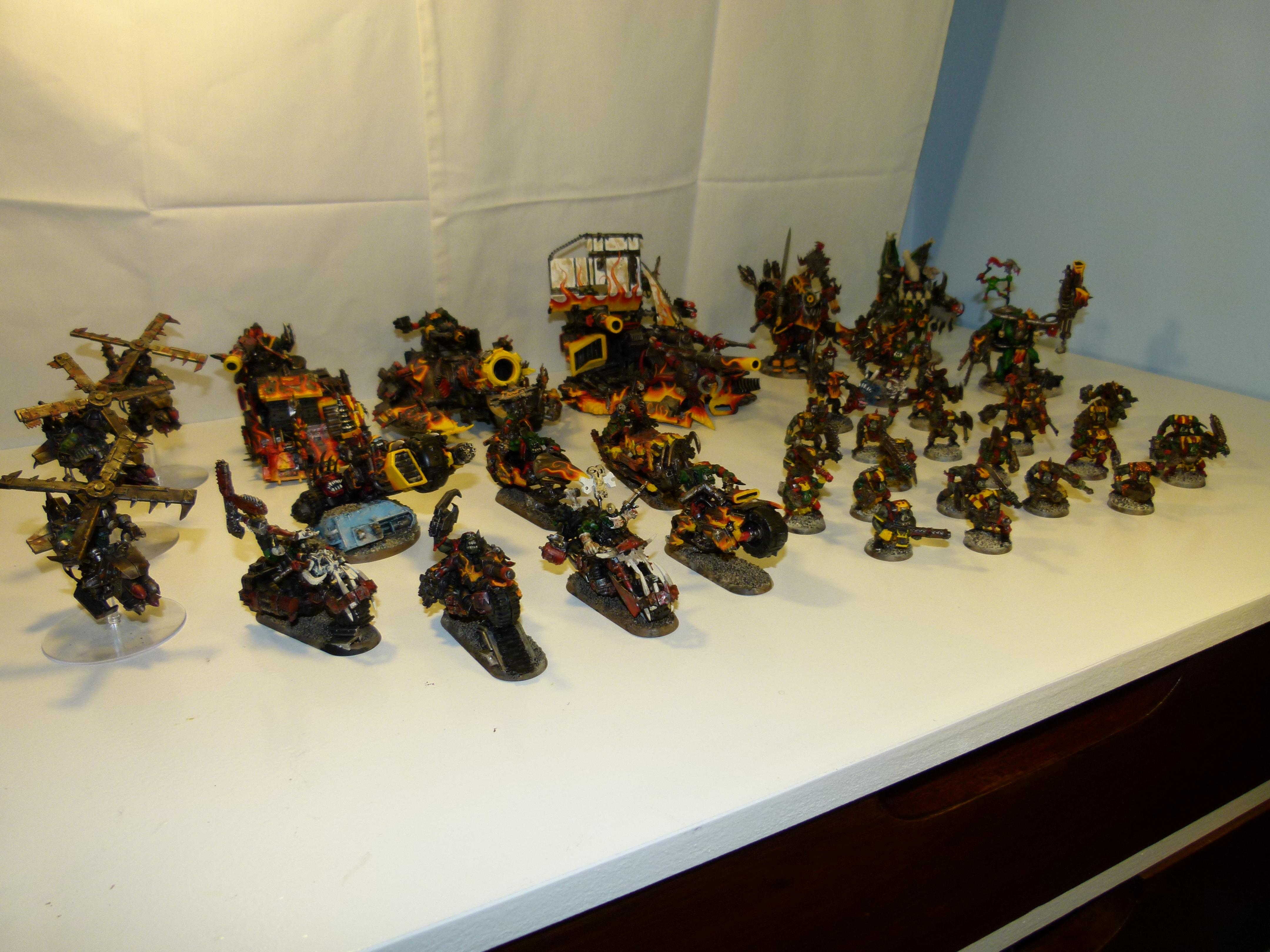 Conversion, Evil Sunz, Fast Attack, Looted, Orks, Warhammer 40,000