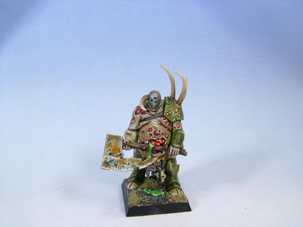 Chaos, Chaos Lord, Exalted Hero, Nurgle, Warhammer Fantasy, Warriors Of Chaos