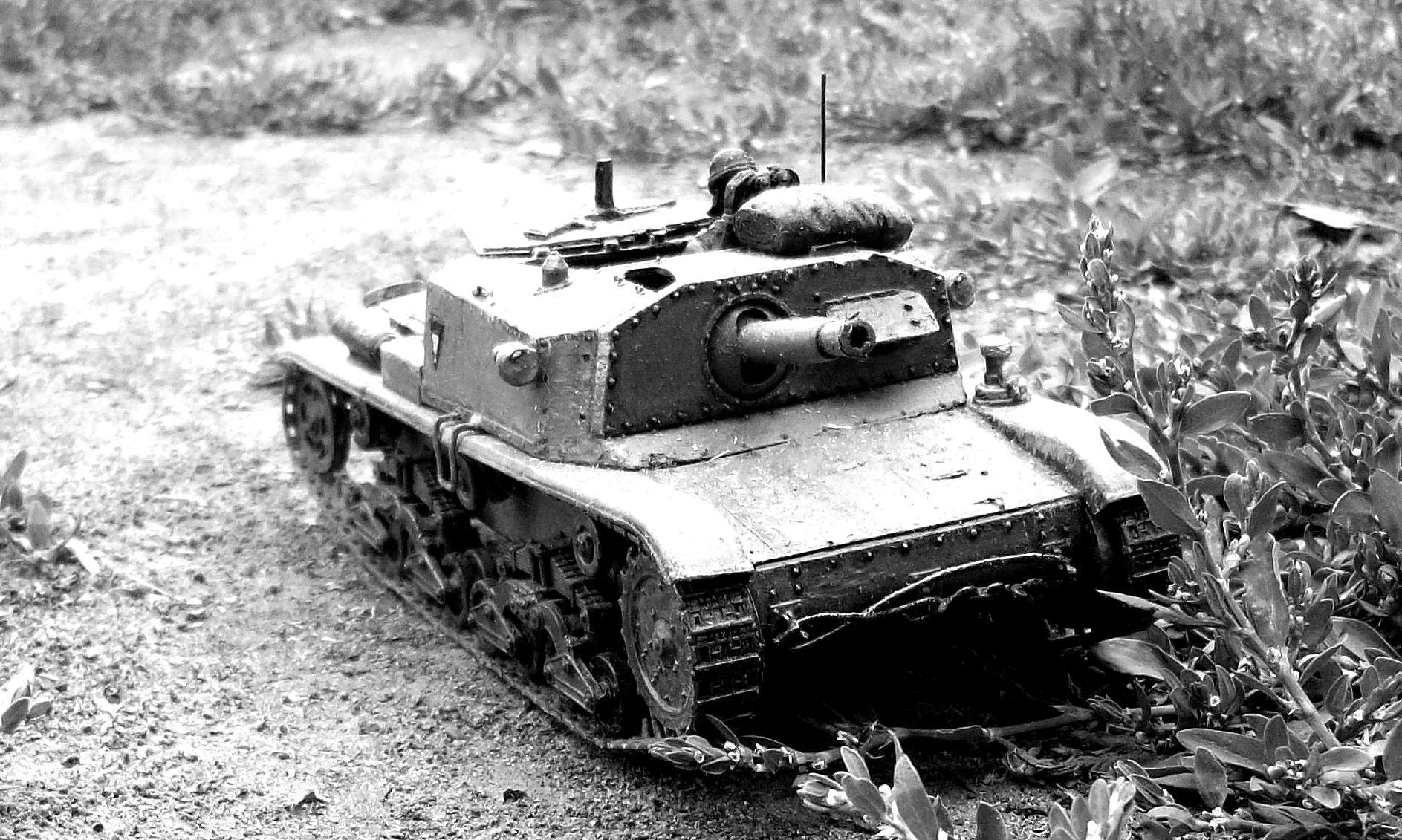 Artillery, Italian, Self-propelled, Semonevente, Tank, World War, World War 2