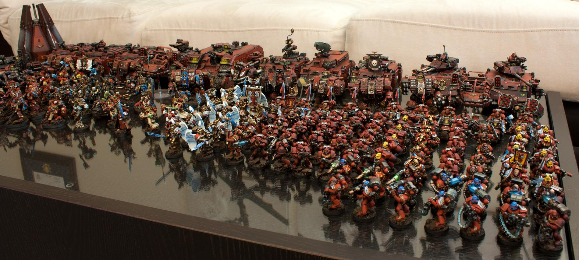 Blood Angels Army Shot 2012