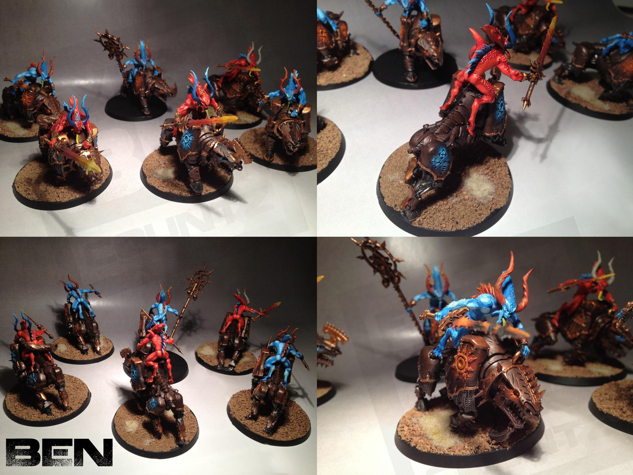 Bloodcrushers, Chaos, Daemons, Khorne