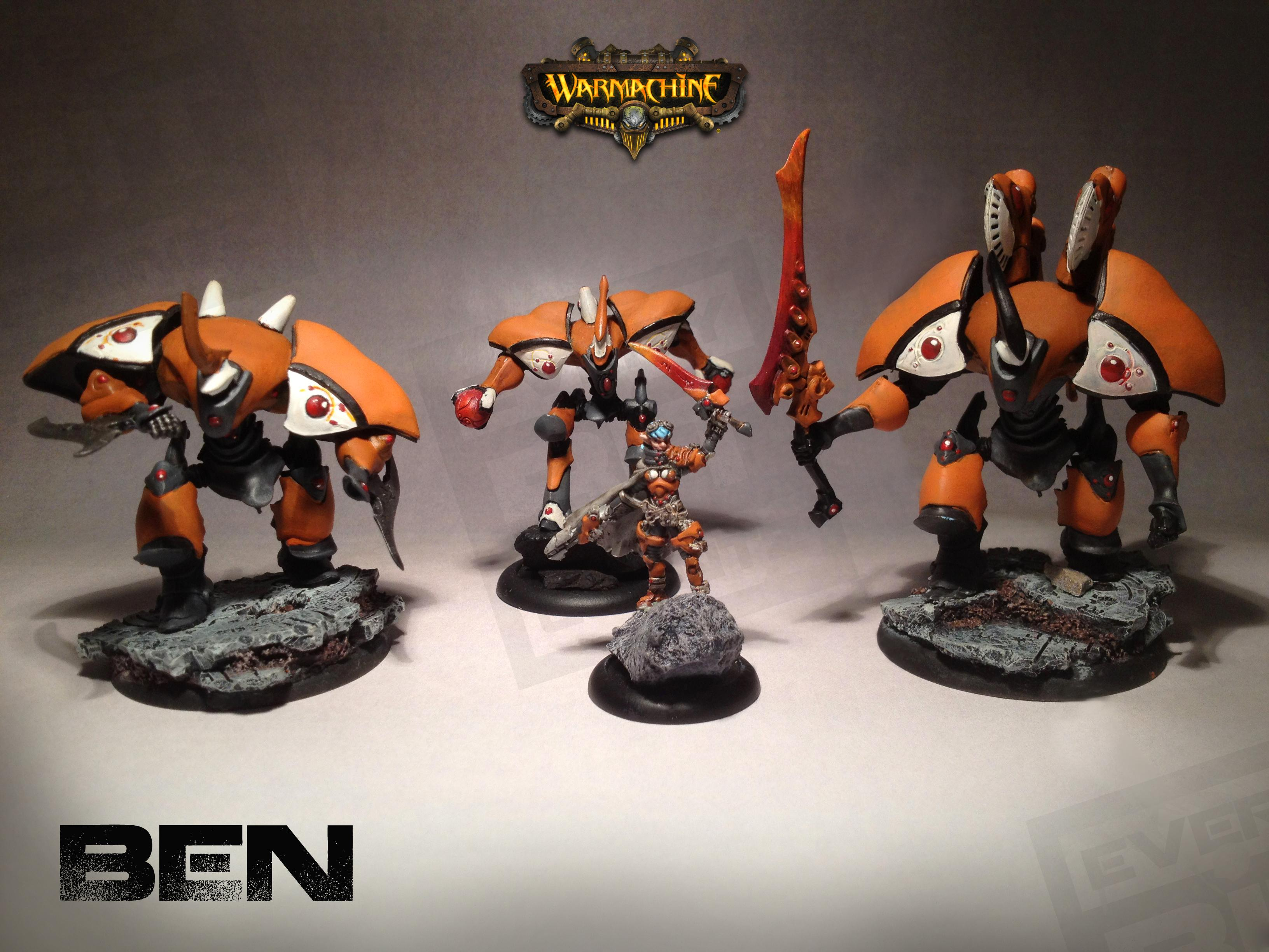 Myrmidon, Retribution Of Scyrah, Warjack, Warmachine