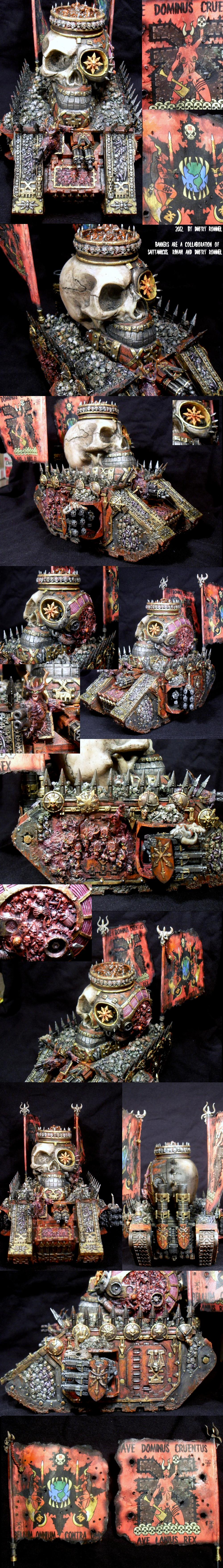 Boobs, Cauldron Of Blood, Daemons, Khorne, Land Raider, Nsfw, Skull, World Eaters