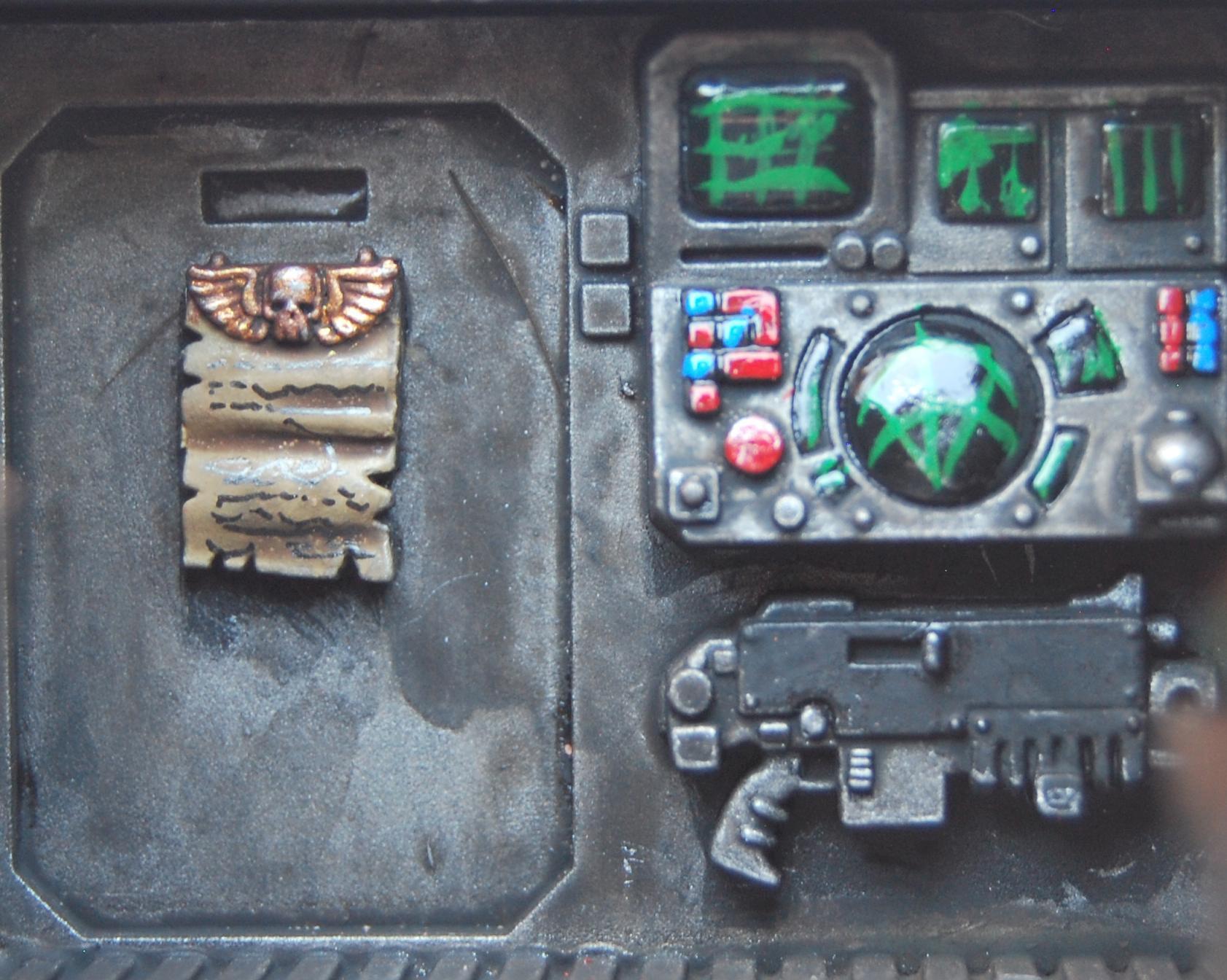 Bolter, Interior, Rhino, Tank