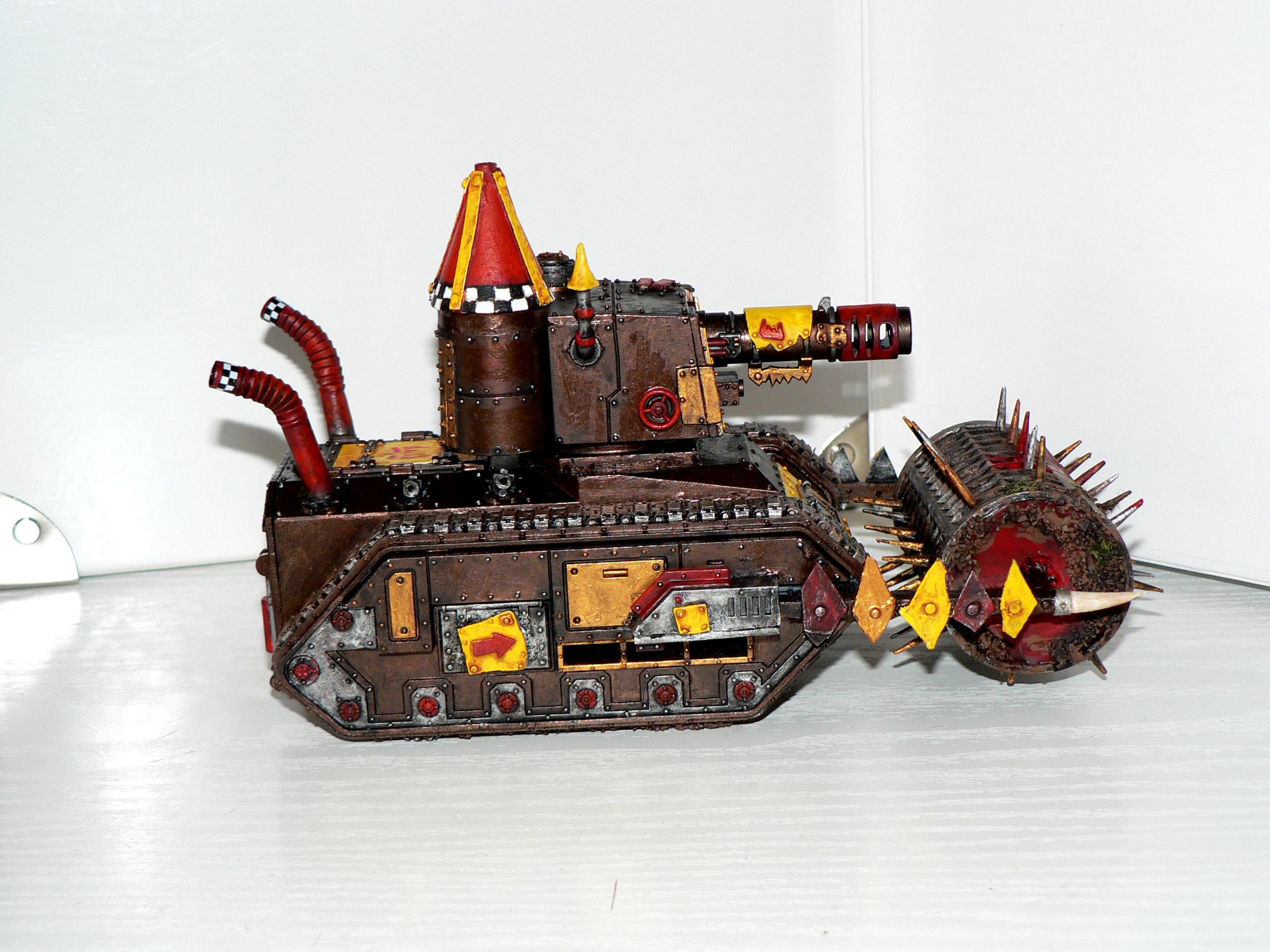 Battlewagon, Bonebreaka, Chimera, Gunwagon, Kitbash