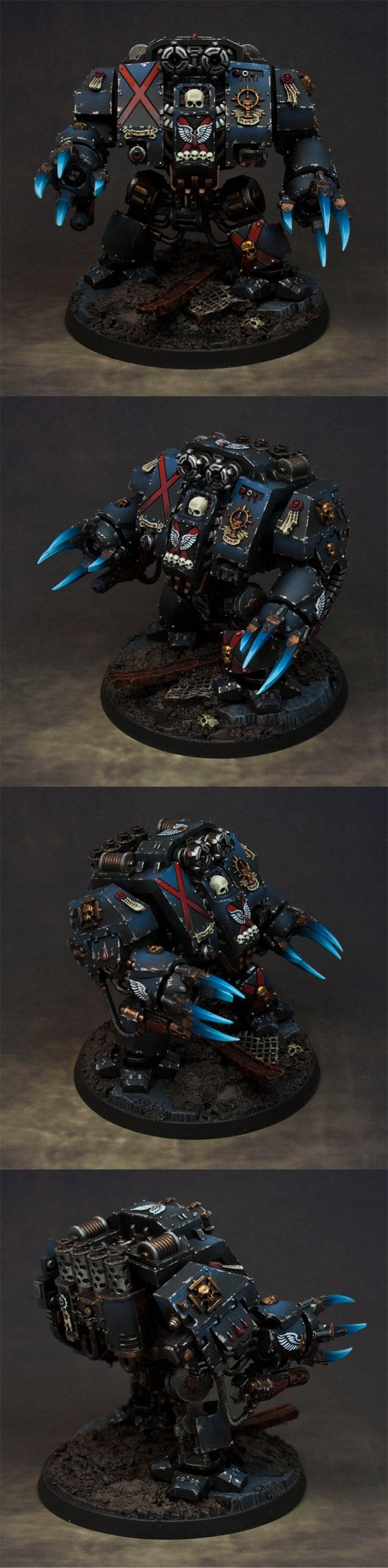 Blood Angels, Dreadnought, Space Marines, Warhammer 40,000