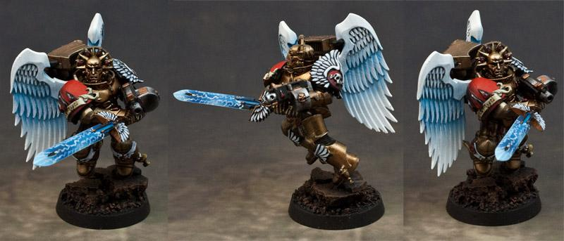 Blood Angels, Power Weapon, Sanguinary Guard
