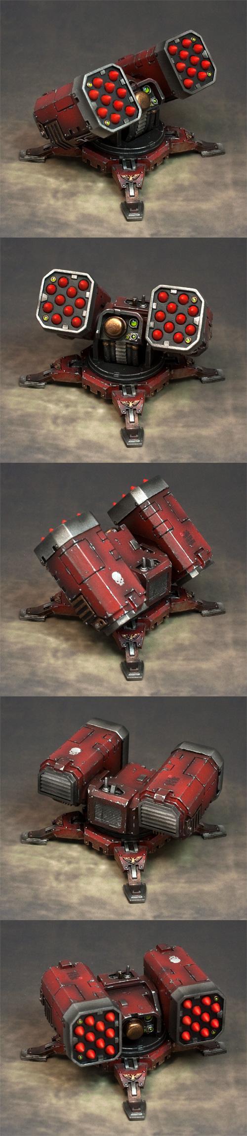 Forge World, Missile Launcher, Platform, Turret