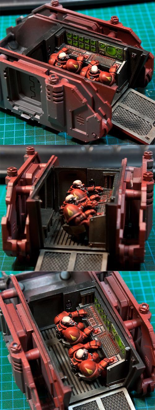 Command Rhino, Interior, Rhino, Space Marines