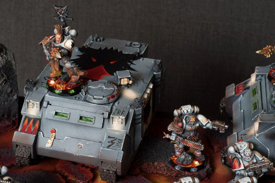 Rhino, Space Marines, Space Wolves